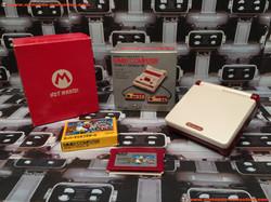 www.nintendo-collection.com - Gameboy Advance GBA SP Famicom 20th Anniversary Hot Mario Club Nintend