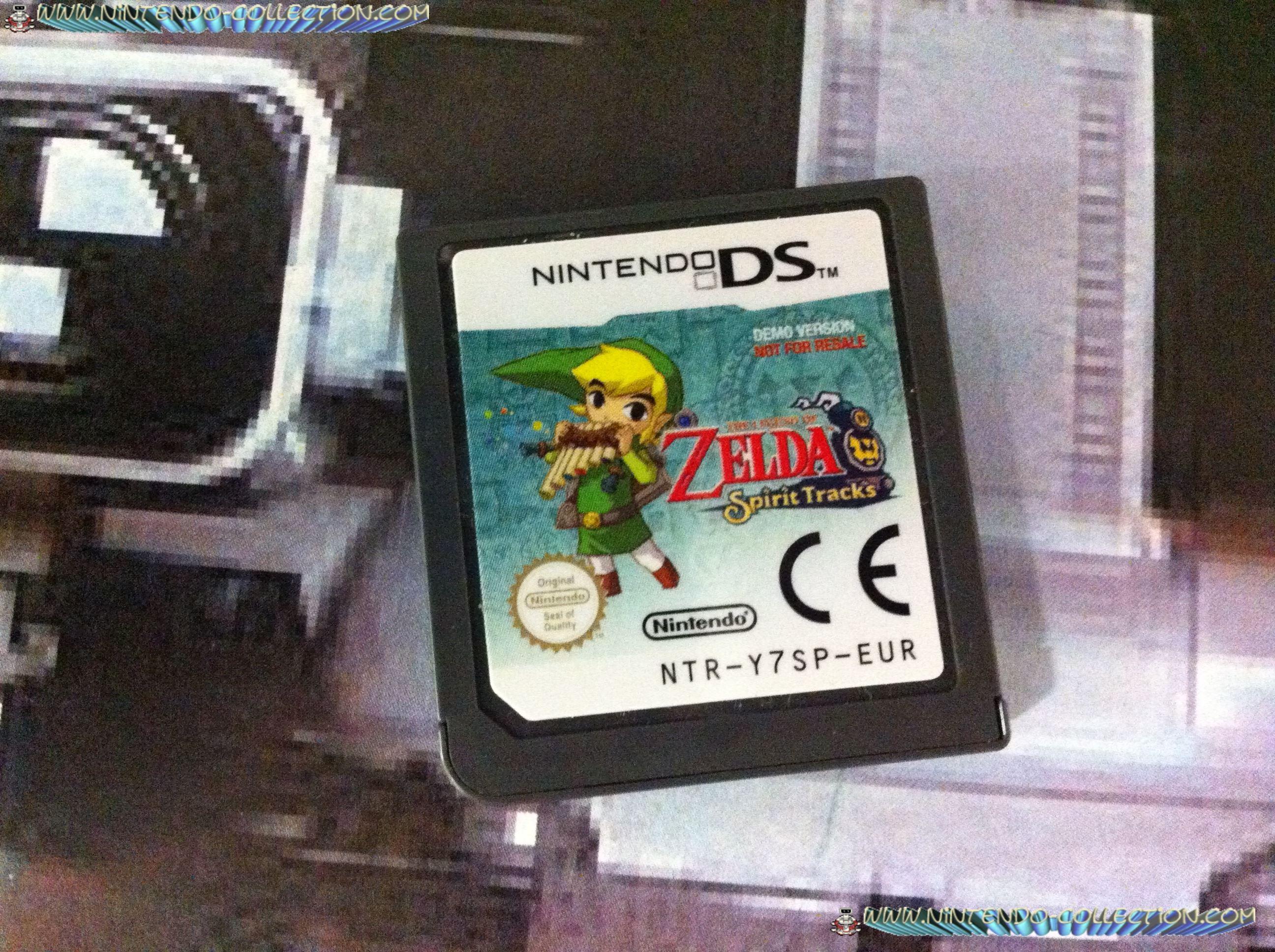 www.nintendo-collection.com - Demo DS 3 DS - Not For Resale - Zelda Spirit Tracks