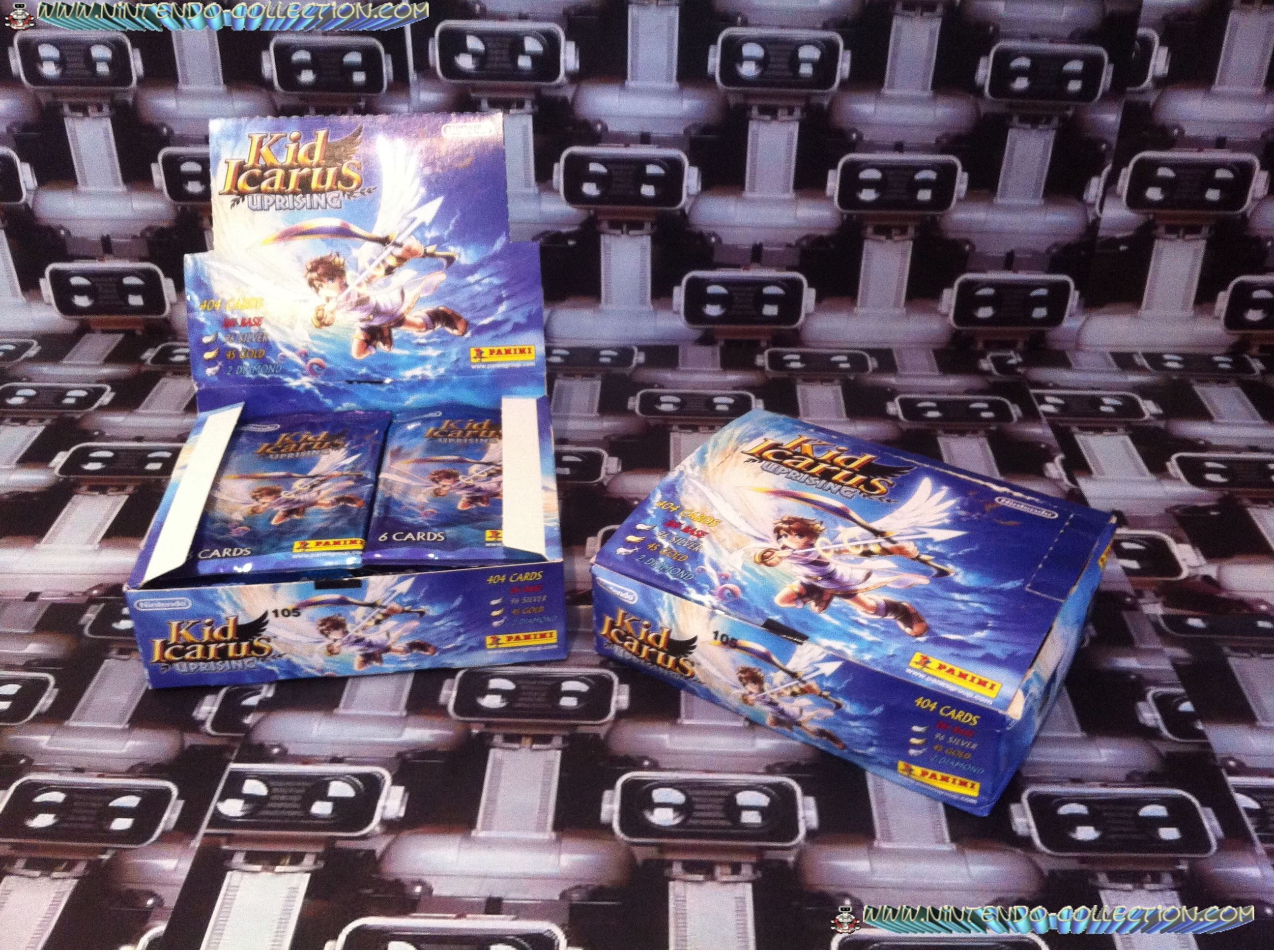 www.nintendo-collection.com - Nintendo 3DS Kid Icarus Uprising Box card boite Carte