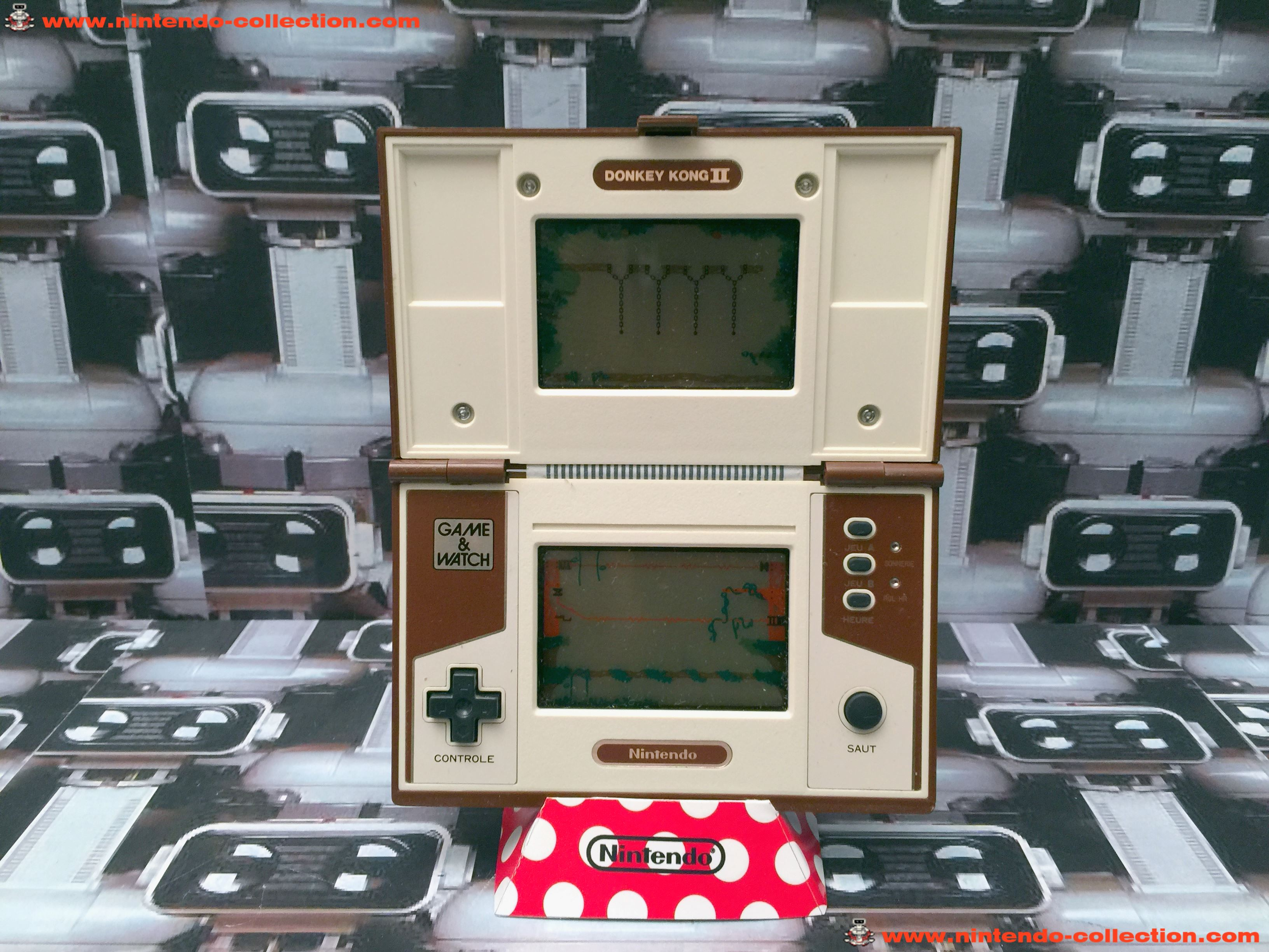www.nintendo-collection.com - Game & Watch Multi Screen Donkey Kong II - 02