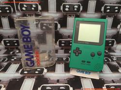 www.nintendo-collection.com - Gameboy Pocket GB Green Vert Crystal Box - 01
