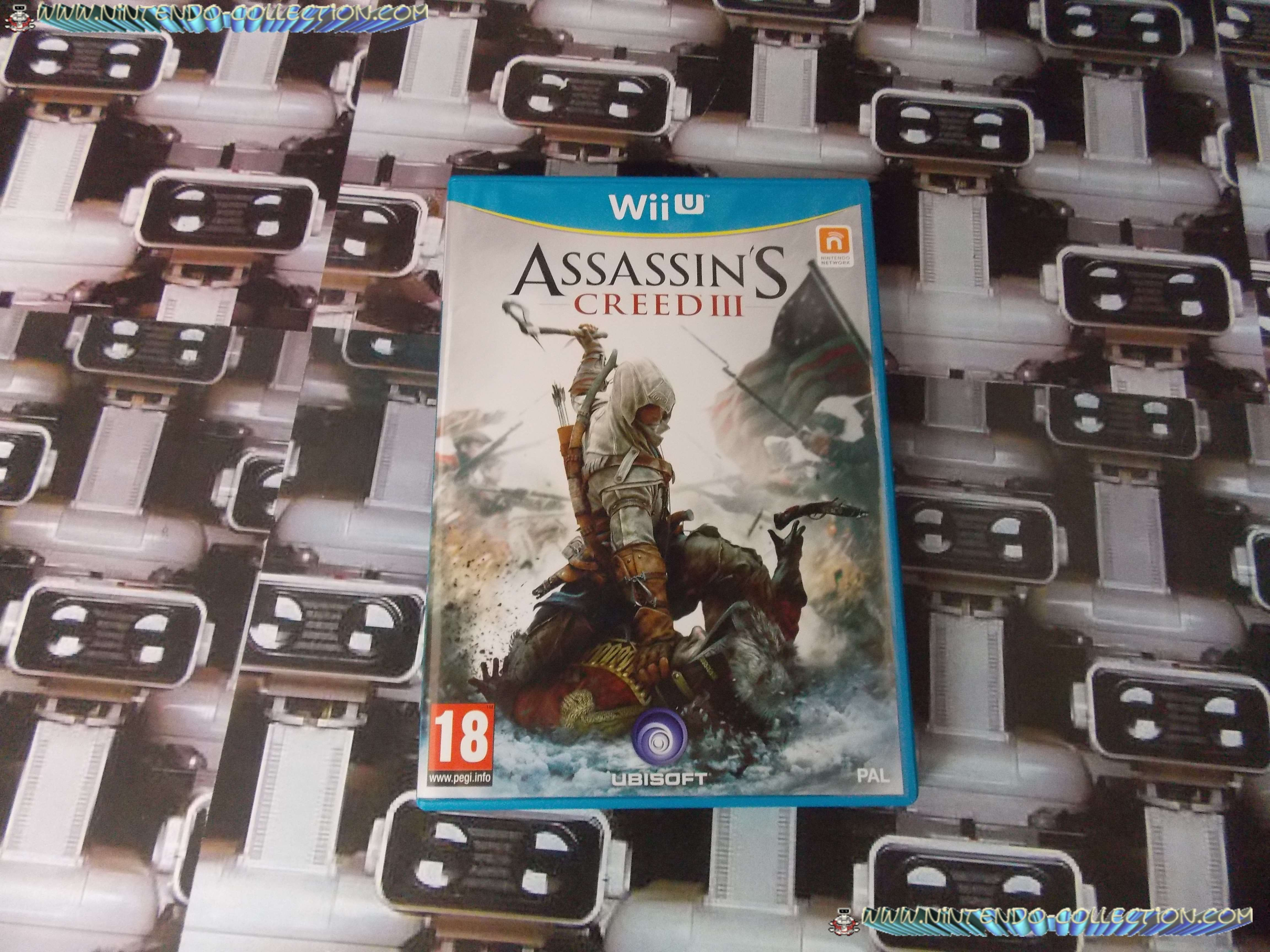 www.nintendo-collection.com - Wii U Game  Jeu Assassin S Screed 3