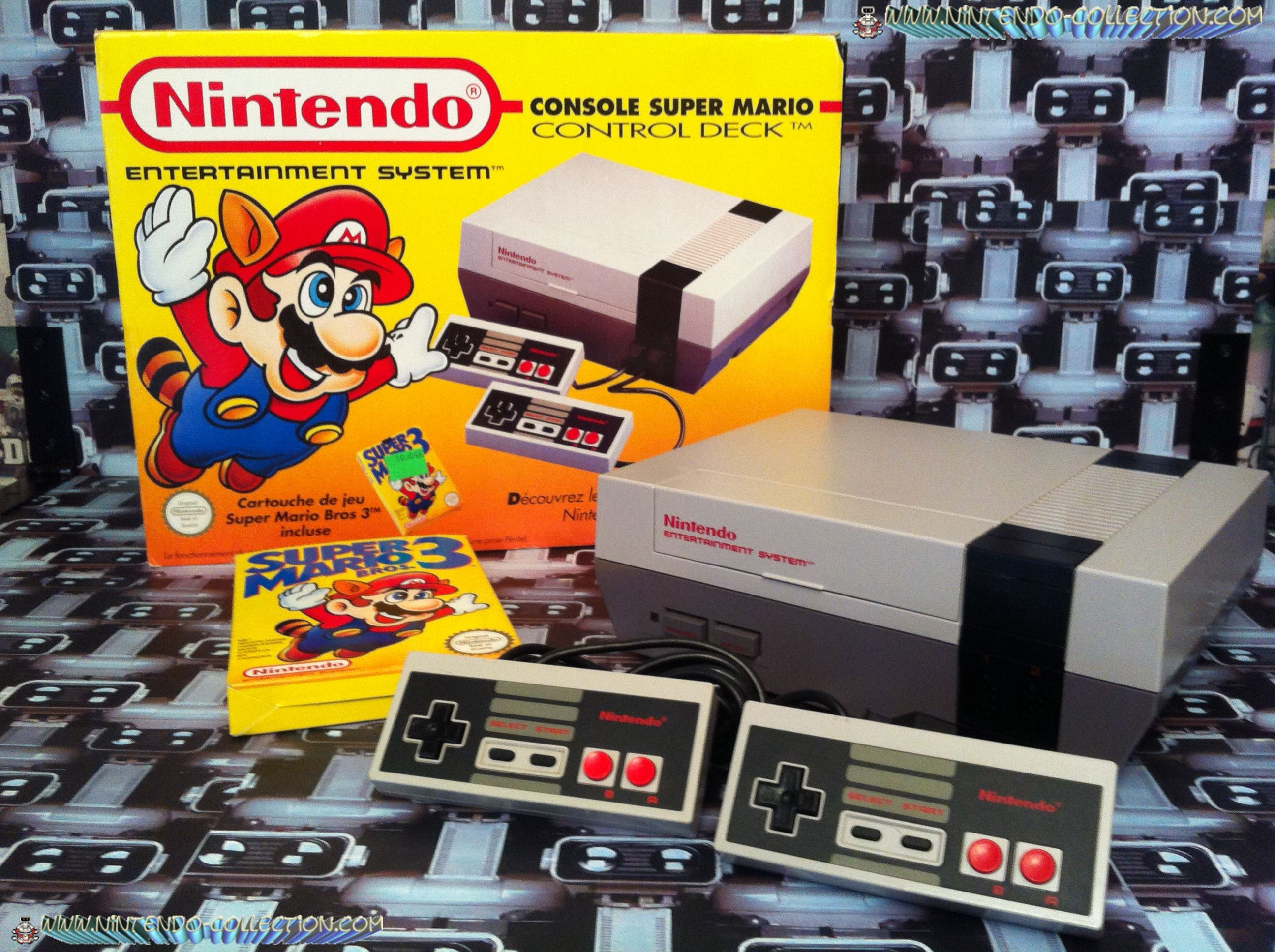 www.nintendo-collection.com - Nintendo NES Super Mario Bros 3 Pack Euro