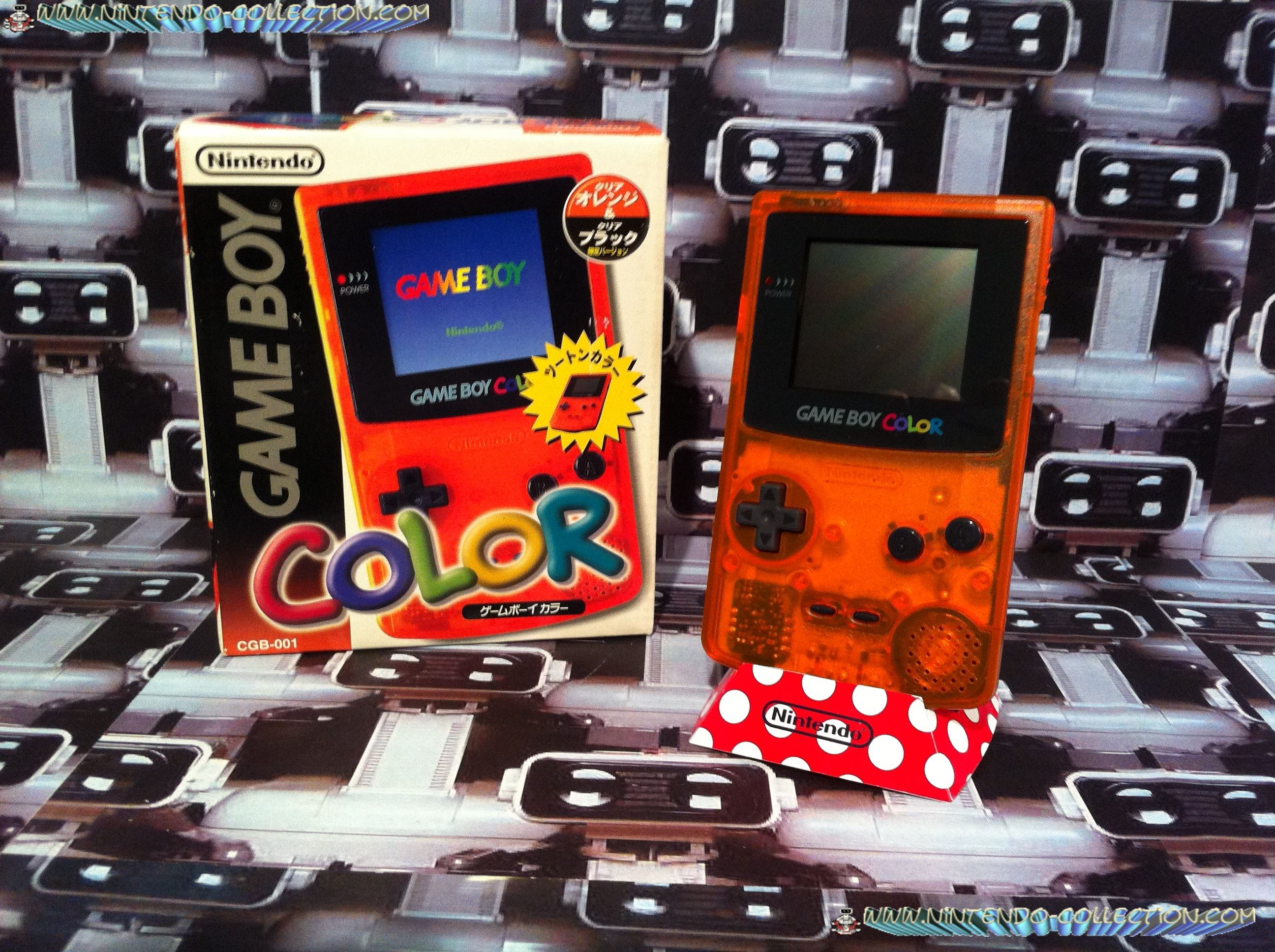 www.nintendo-collection.com - Gameboy Color Daiei edition Japan