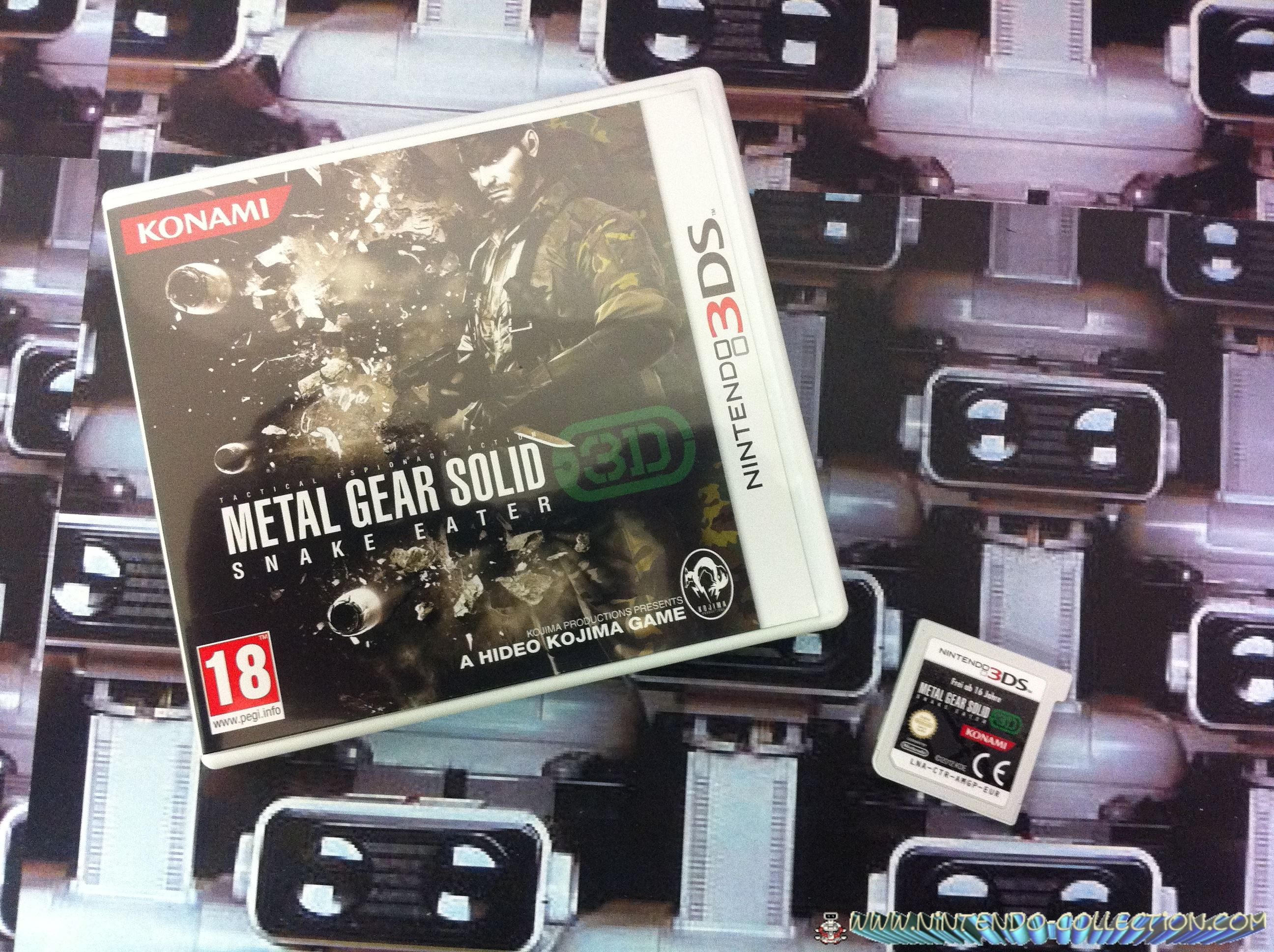 www.nintendo-collection.com - Metal Gear Solid - Snake Eater 3D 3DS