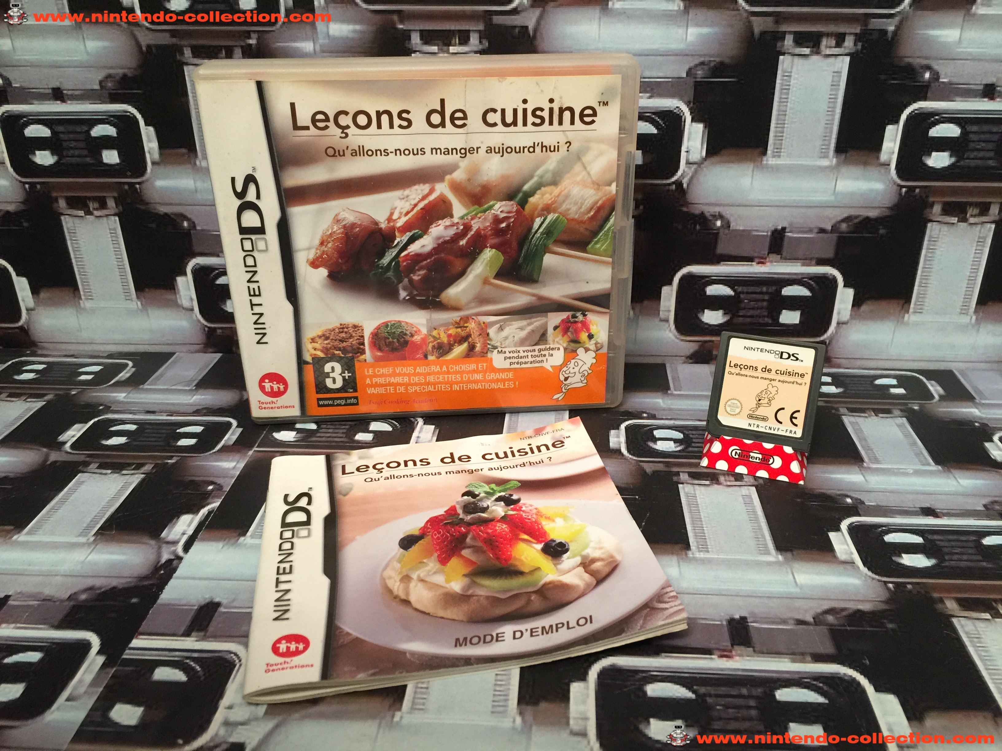 www.nintendo-collection.com - Nintendo DS Jeux Game Lecons de cuisine Euro Fr