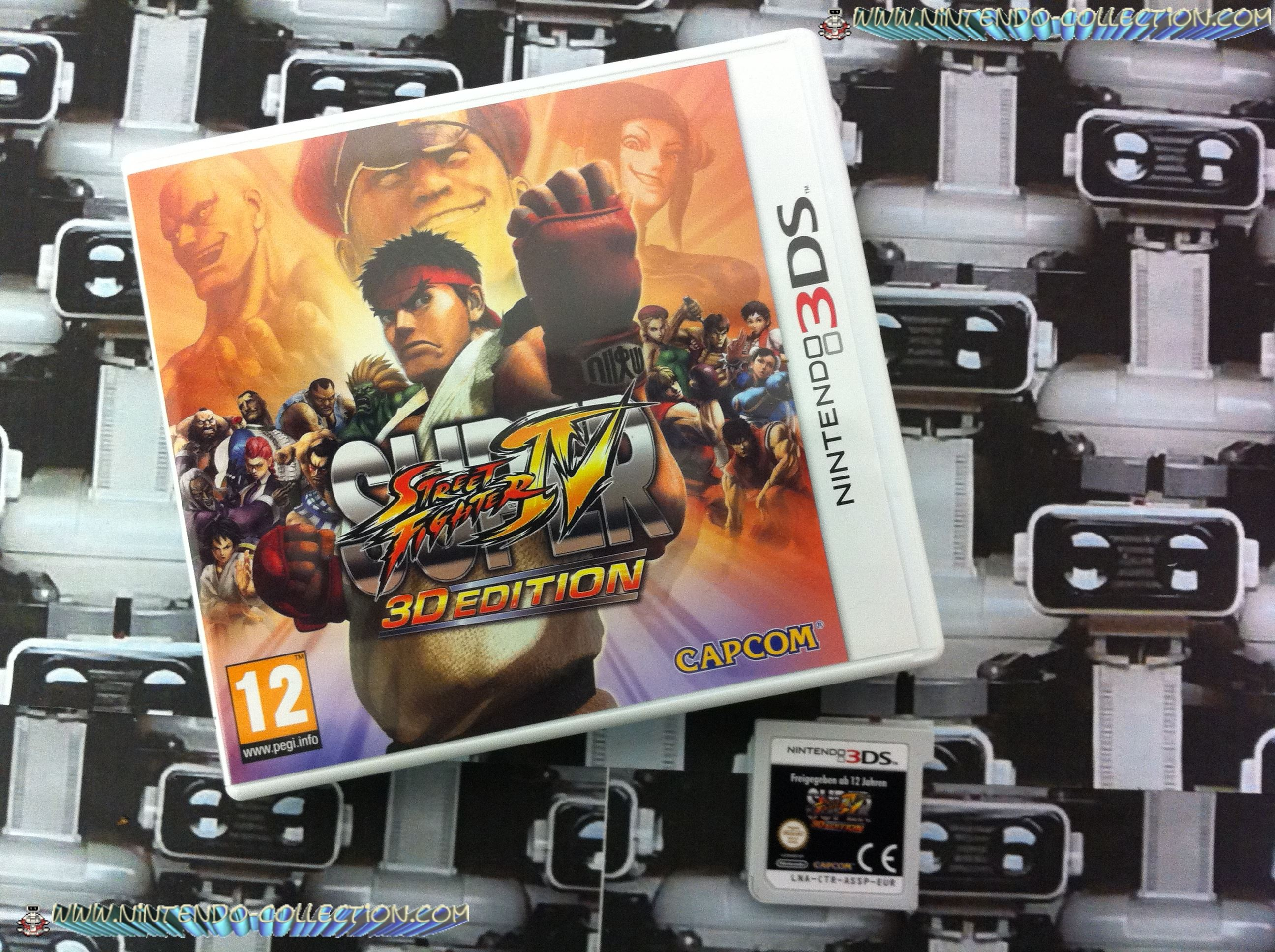 www.Nintendo-Collection.com - Mon Jeu Super Street Fighter IV 3D edition pour 3DS