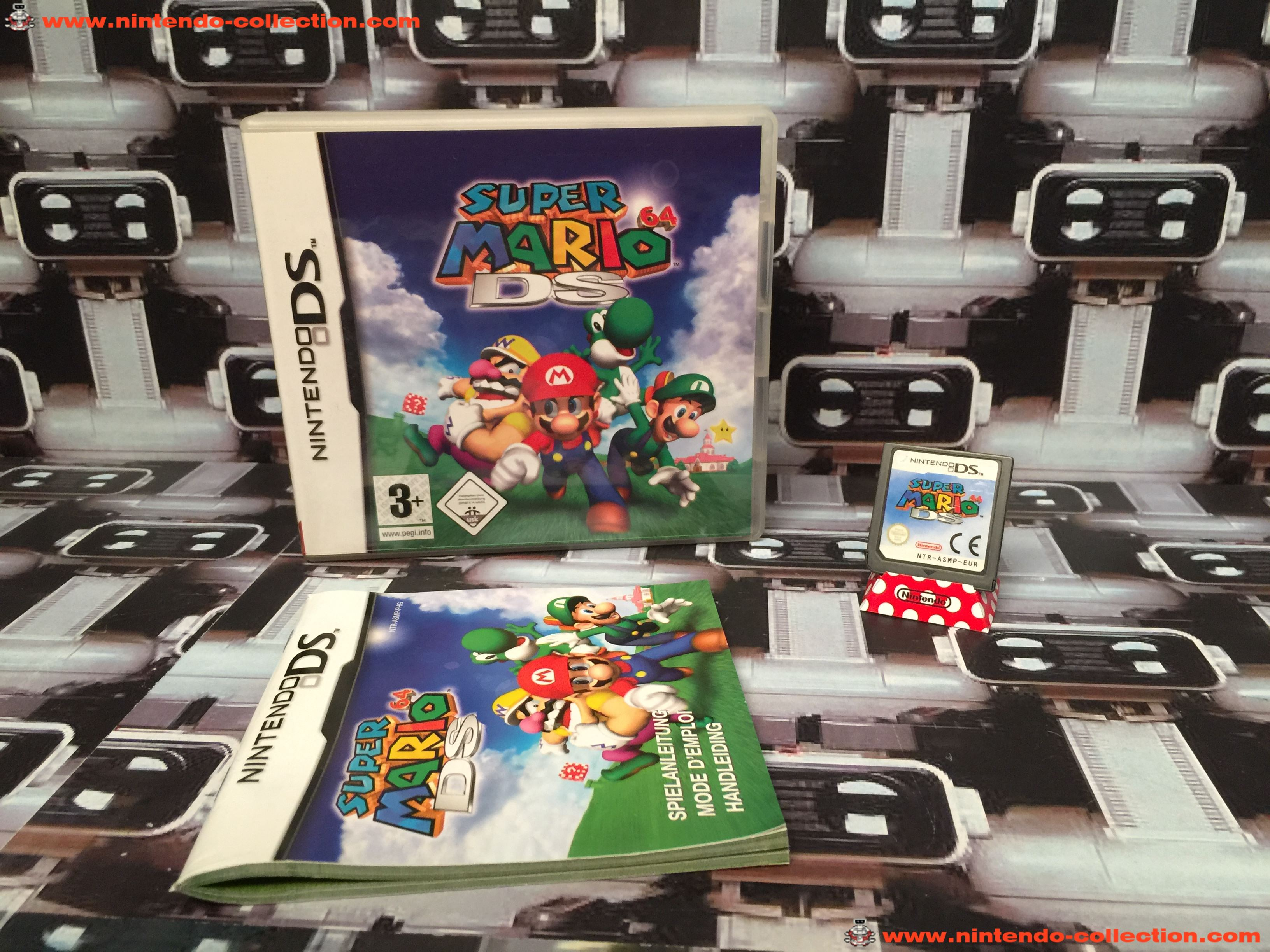 www.nintendo-collection.com - Nintendo DS Jeux Game Super Mario 64 DS Euro