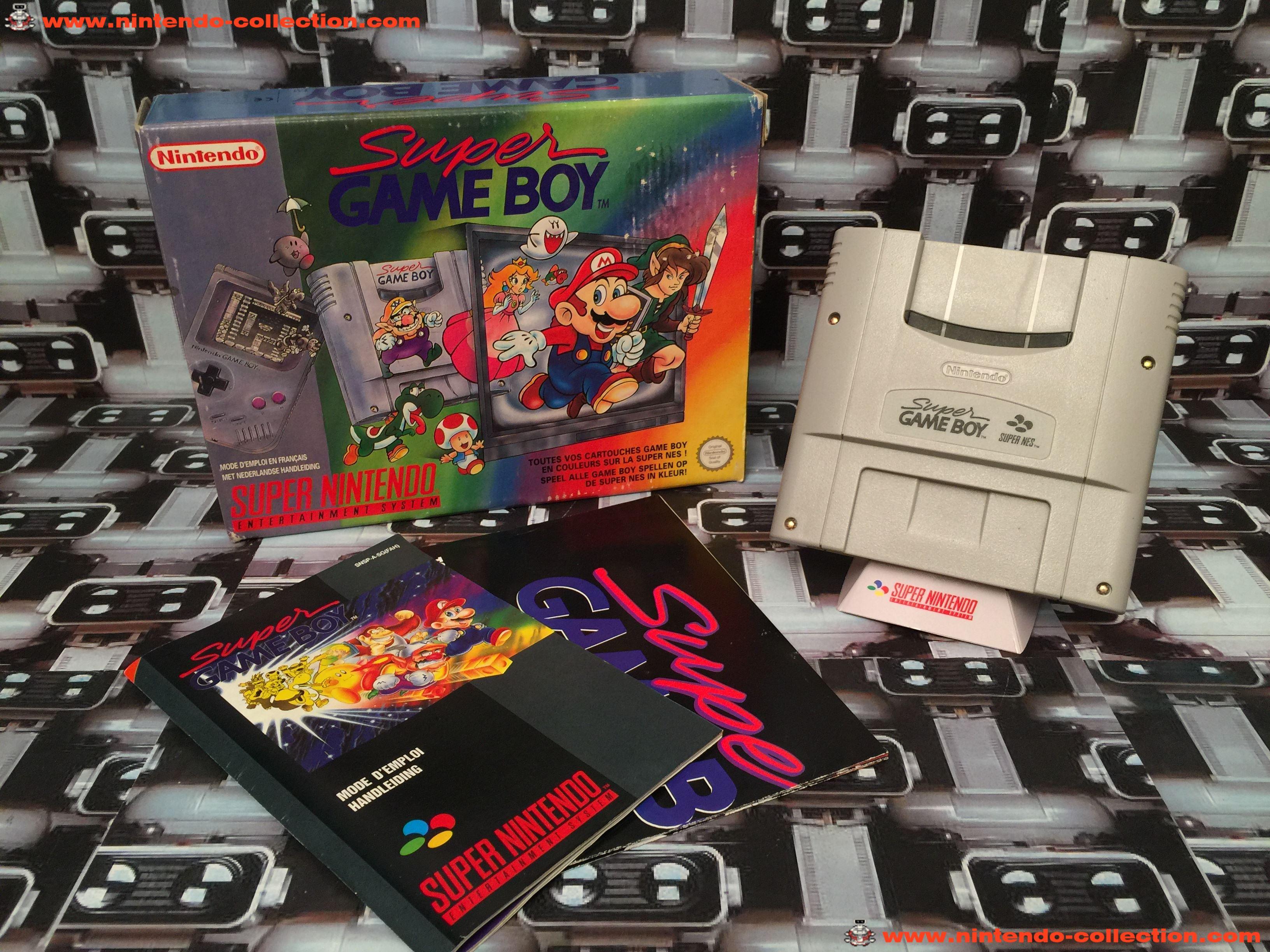 www.nintendo-collection.com - Super Nintendo SNES Super Famicom Super Gameboy