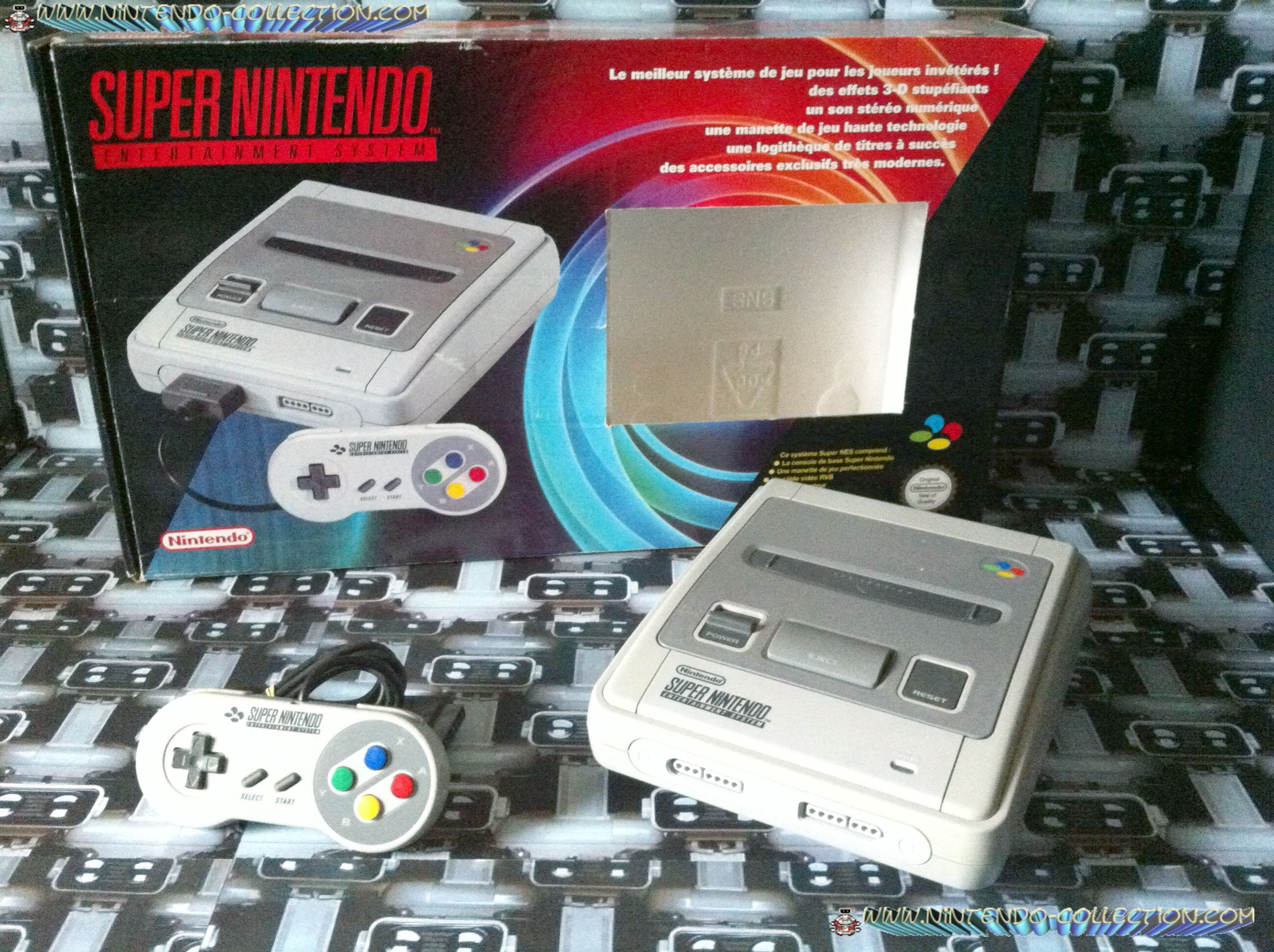 www.nintendo-collection.com - Super Nintendo Super Famicom Super Nes Pack a fenetre windows
