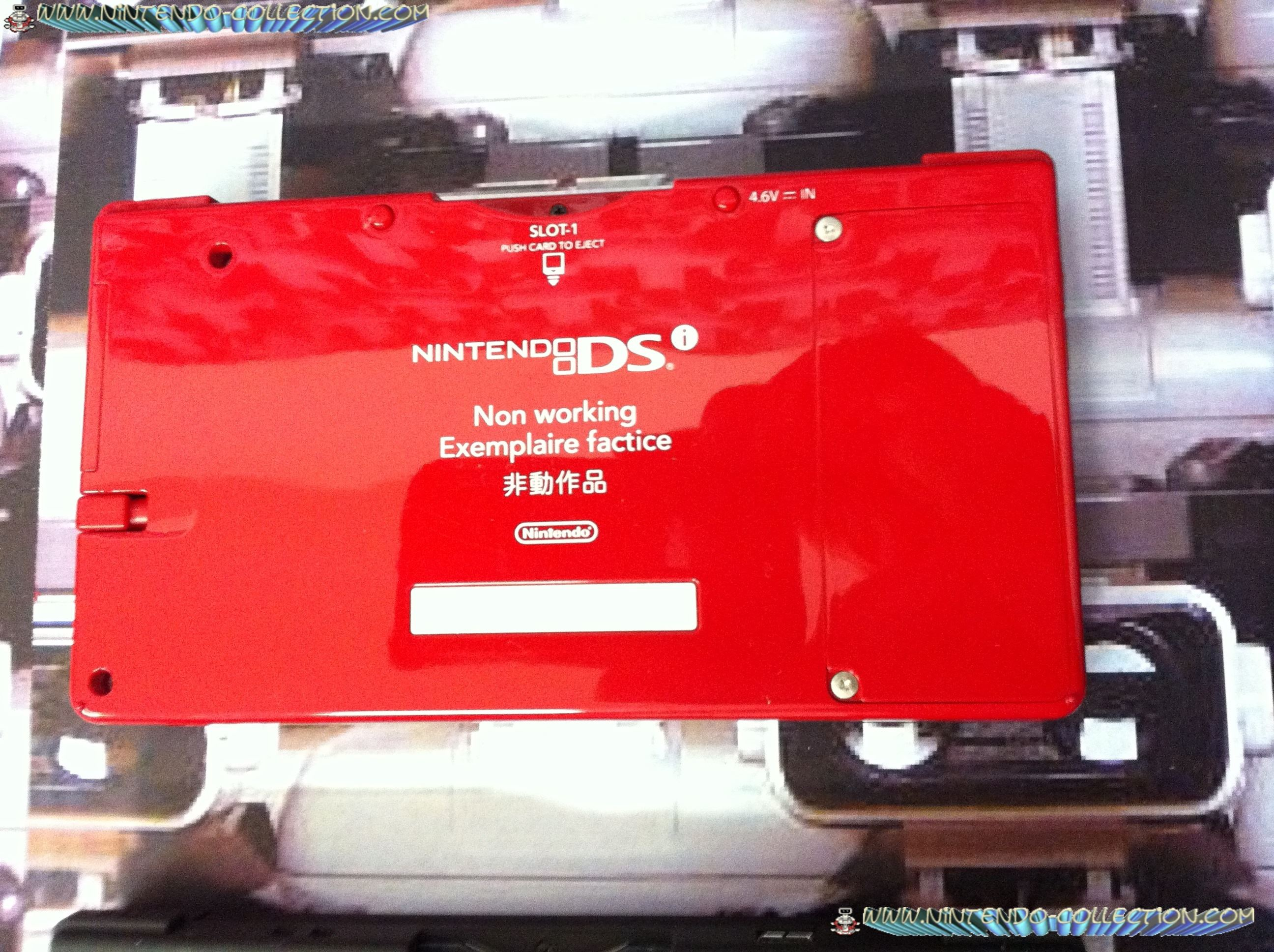 www.nintendo-collection.com - DSi Factice Non-Working Unit Rouge Red