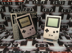 www.nintendo-collection.com - Gameboy GB Pocket Silver Argent en boite in box European Europe