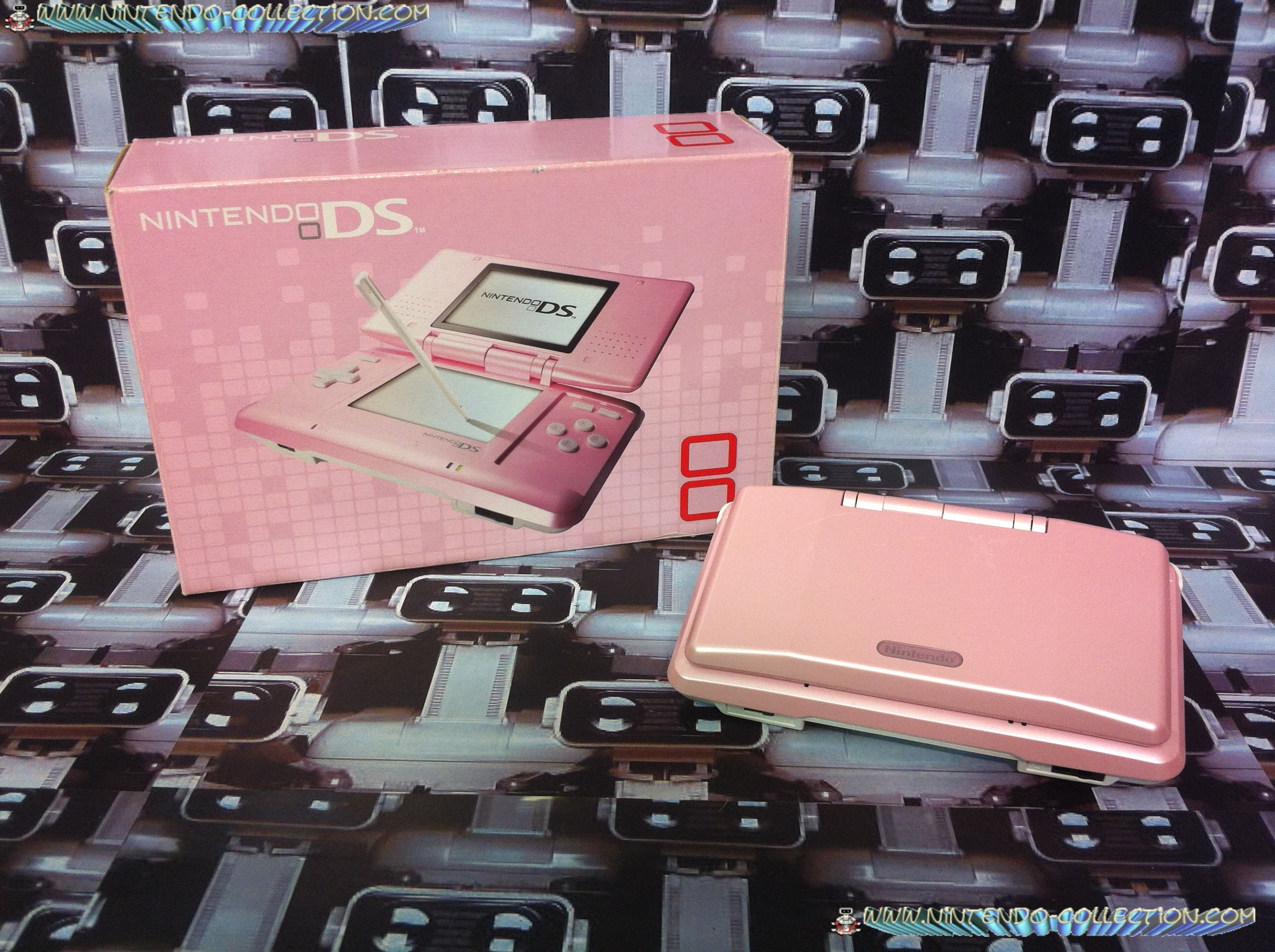 www.nintendo-collection.com - Nintendo DS Pink rose
