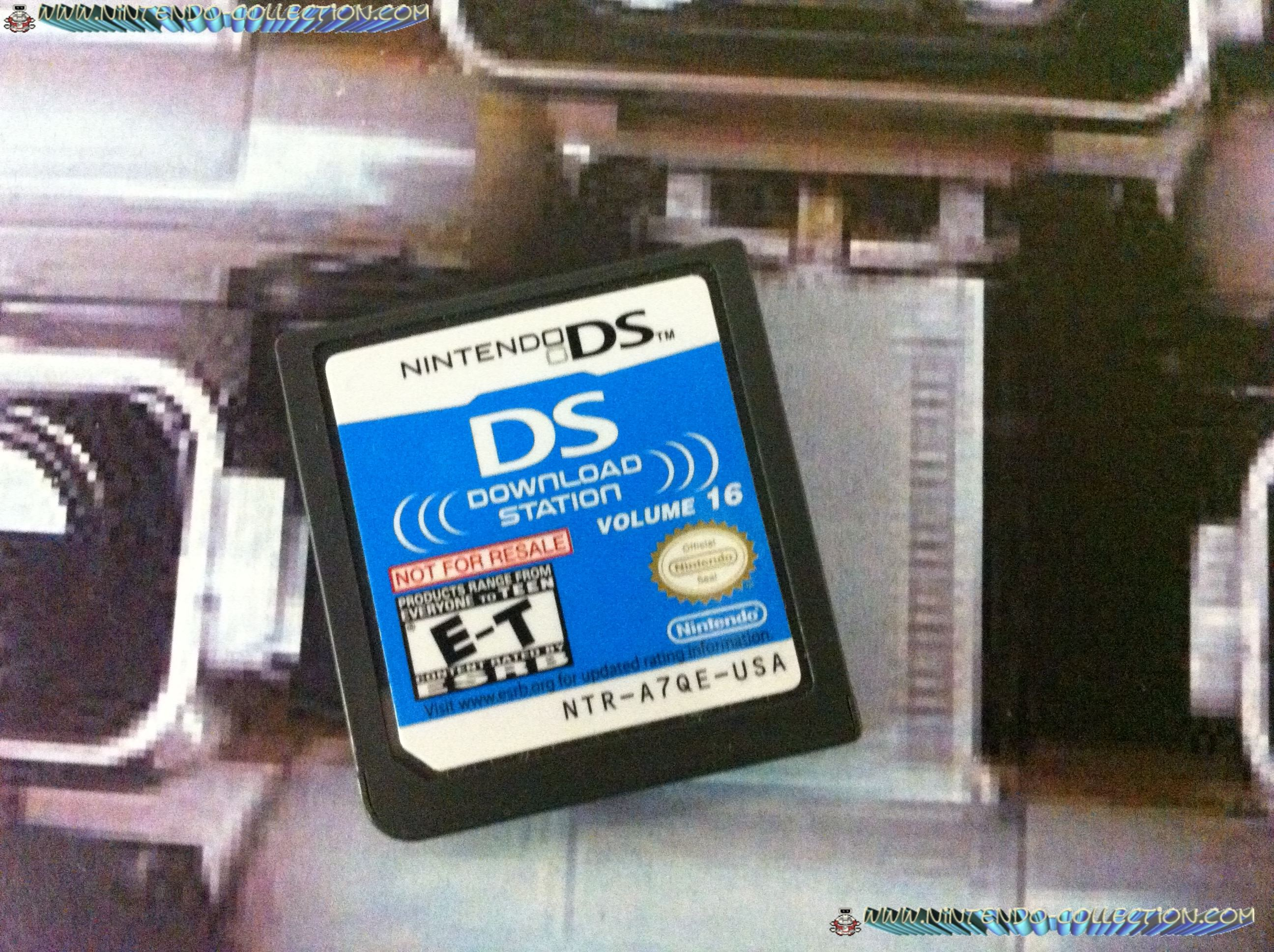 www.nintendo-collection.com - Demo DS 3 DS - Not For Resale - US Download Station Volume 16