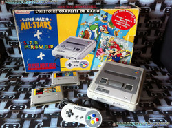 www.nintendo-collection.com - Super Nintendo Super Famicom Super Nes Pack Super Mario All Stars Supe