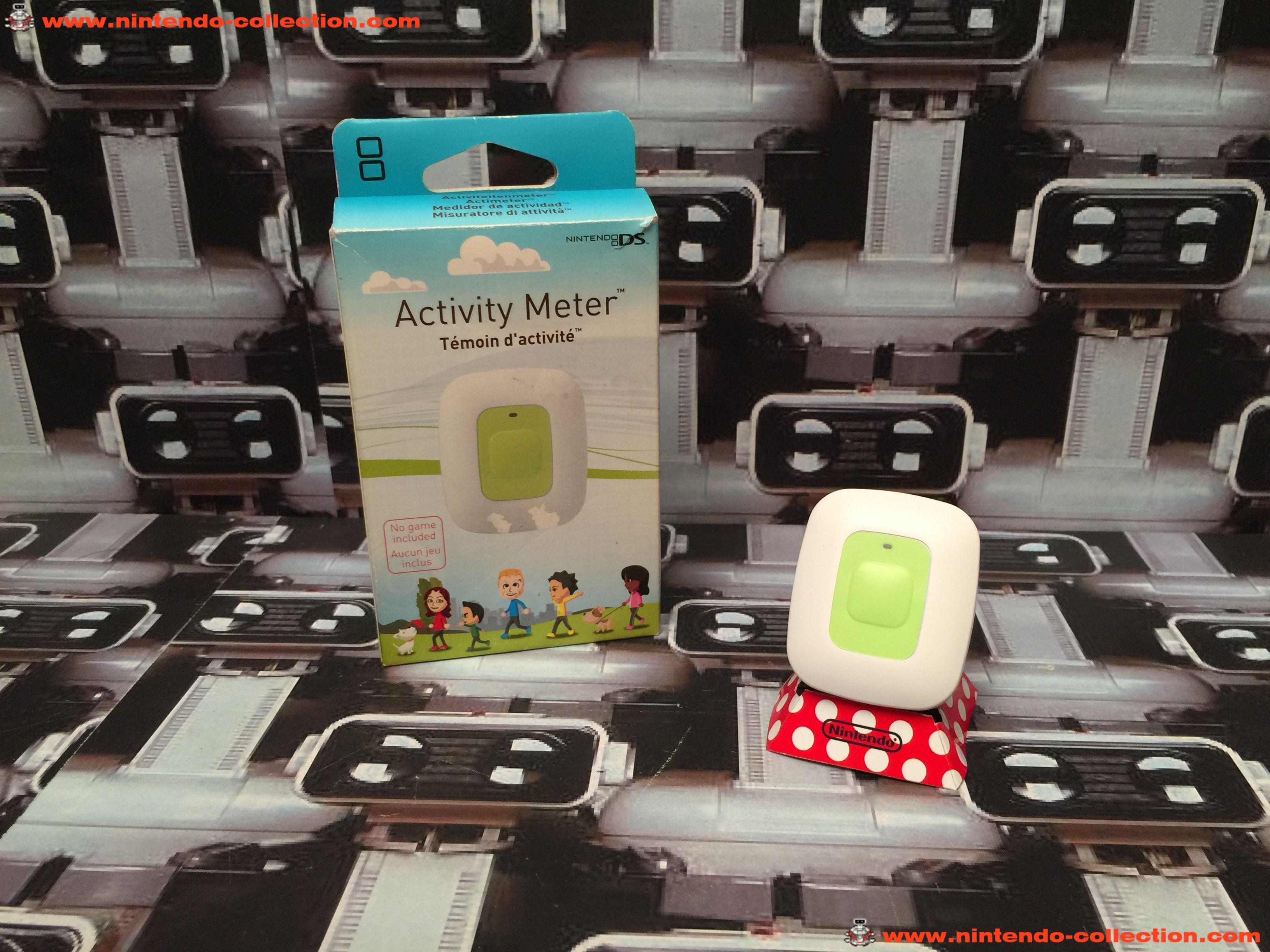 www.nintendo-collection.com - Nintendo DS Activity Meter Marche avec Moi vert blanc