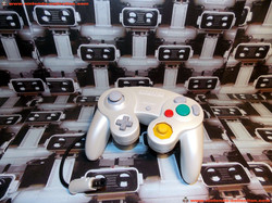 www.nintendo-collection.com - Gamecube controller manette white blanc