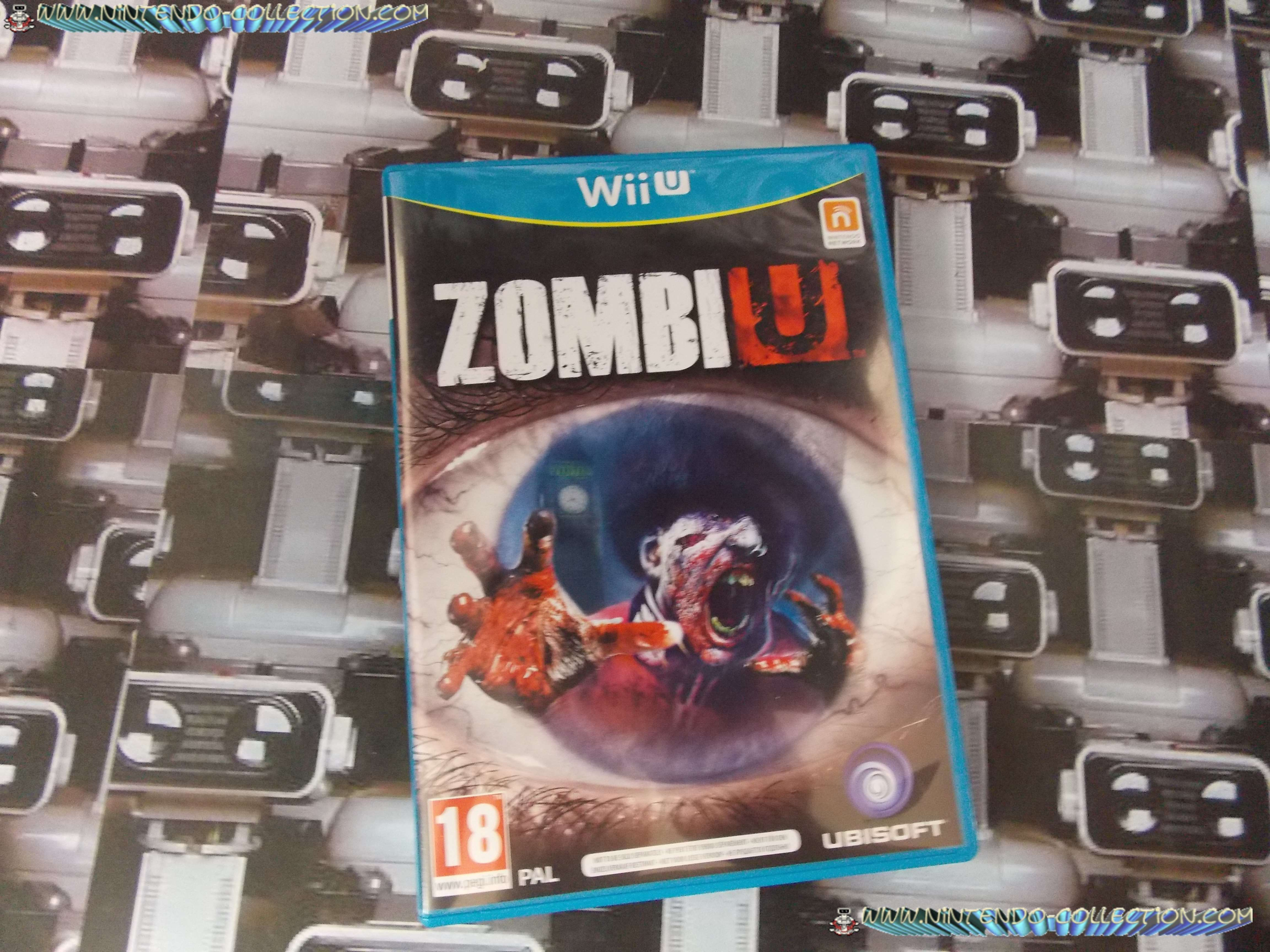 www.nintendo-collection.com - Wii U Game Jeu Zombi U