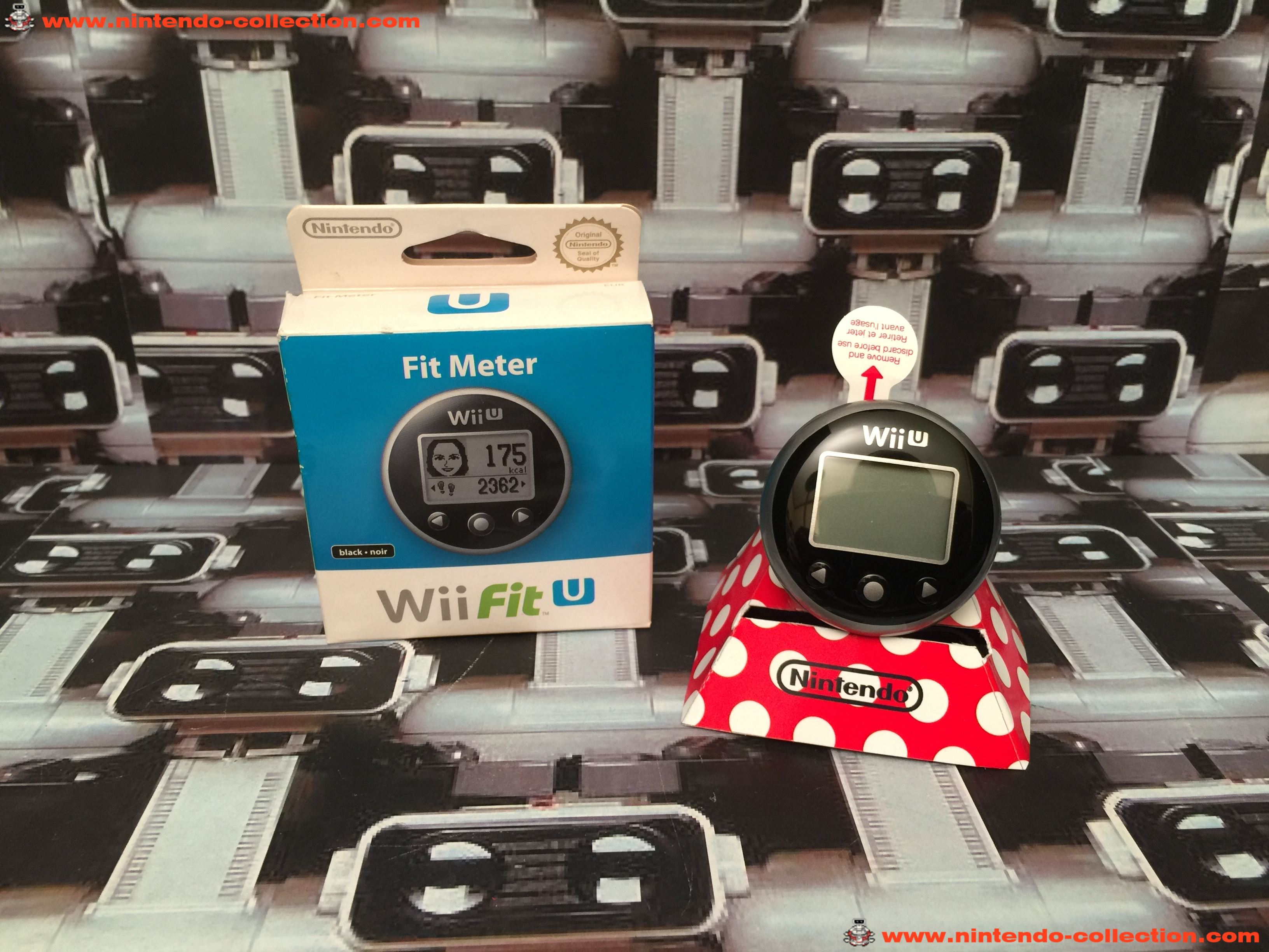 www.nintendo-collection.com - Wii U Mini Nintendo Wii Fit Meter Black Noir