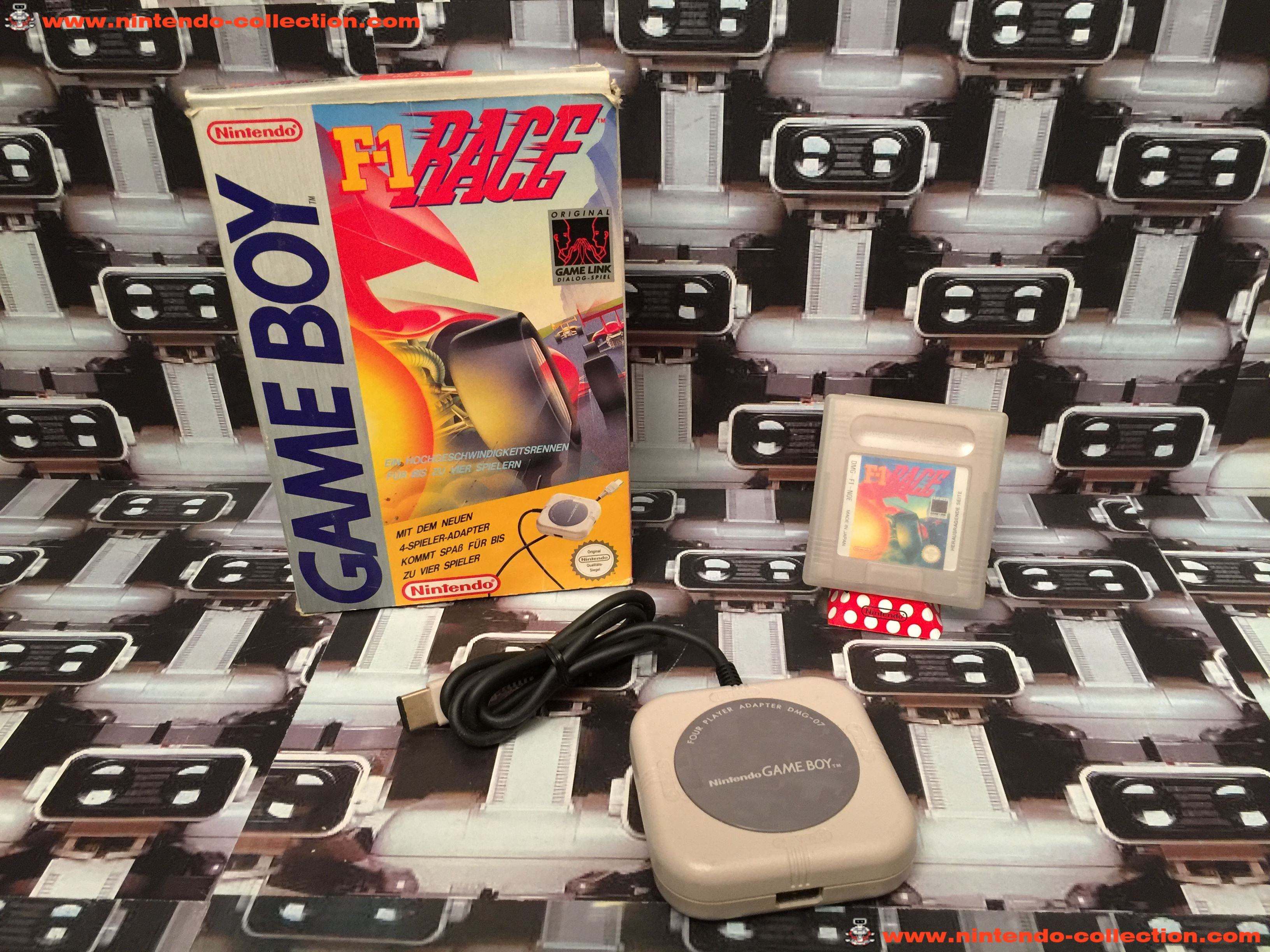 www.nintendo-collection.com - Gameboy Game Jeux F-1 Race +4 player Link