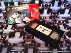 www.nintendo-collection.com - Nintendo 64 N64 Accessory - Accessoire - Promotional Video - VHS promo