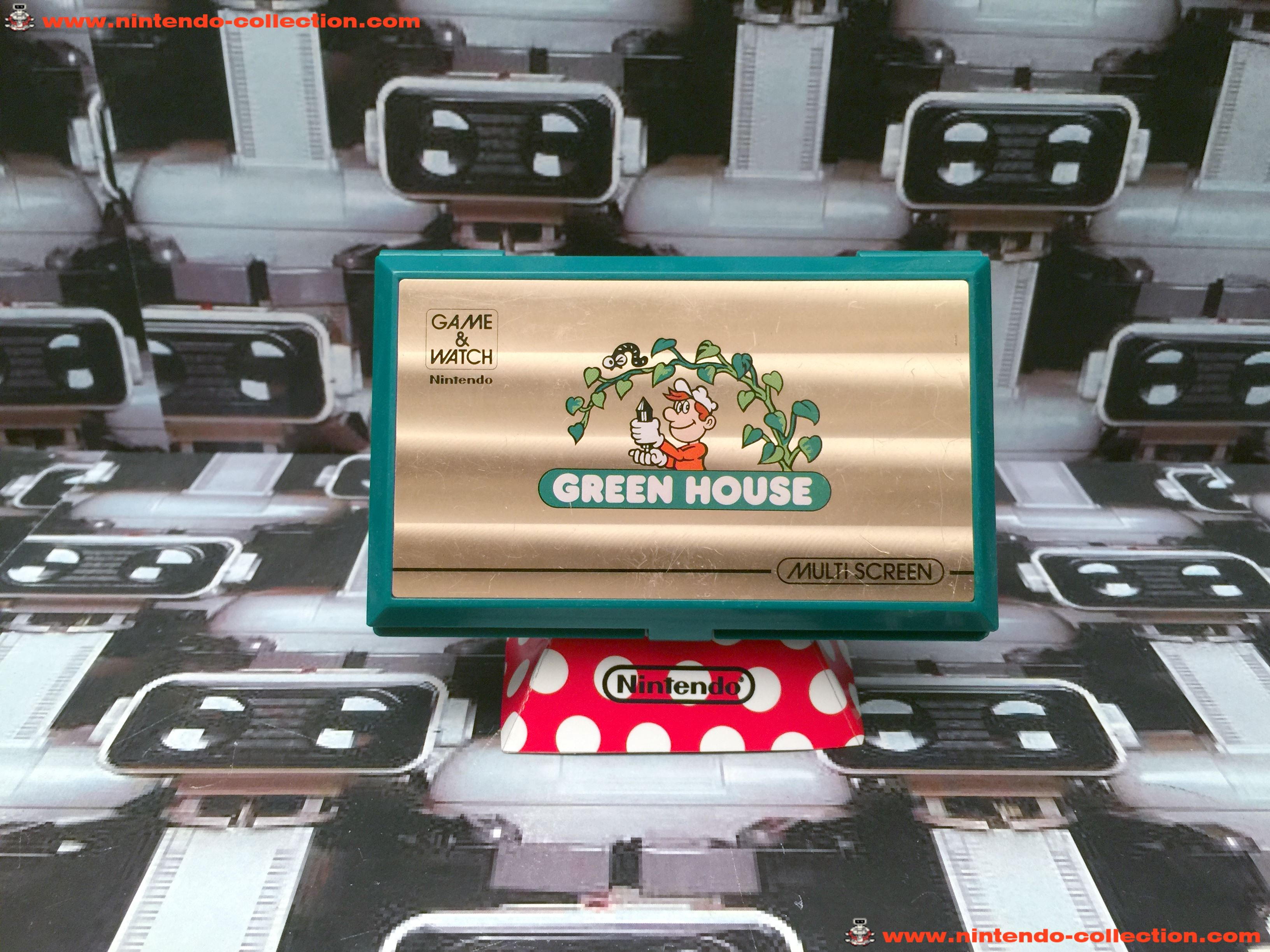 www.nintendo-collection.com - Game & Watch Multi Screen Green house - 01