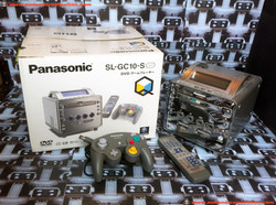 www.nintendo-collection.com - Gamecube Panasonic Q SL-GC10-S DVD player edition Japanese  Japan Japo