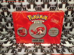 www.nintendo-collection.com - Gameboy Advance SP Super Pack Collector Pokemon Version Rubis - 01