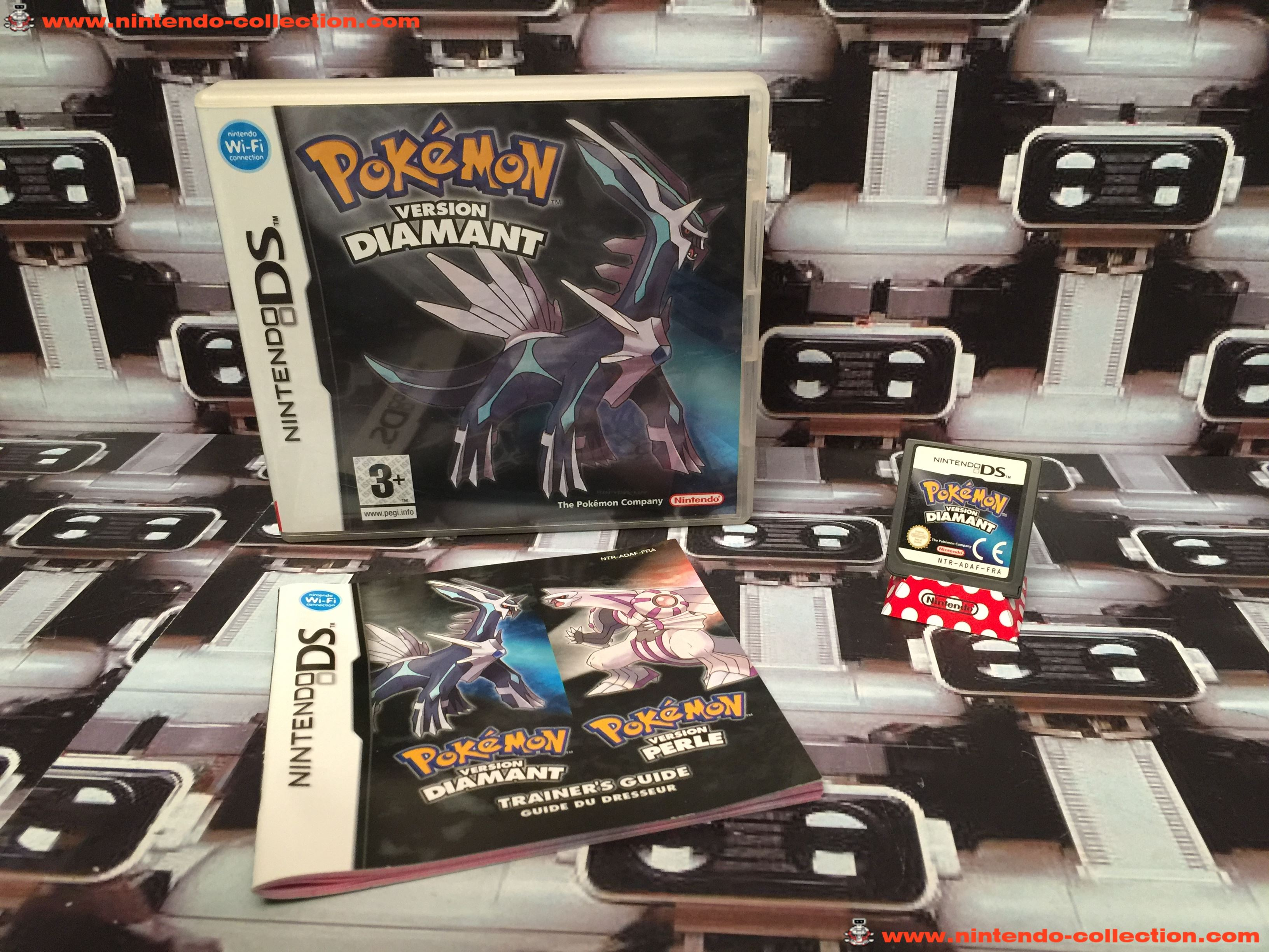 www.nintendo-collection.com - Nintendo DS Jeux Game Pokemon Version Diamant Euro Fr