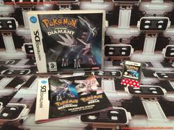 www.nintendo-collection.com - Nintendo DS Jeux Game Pokemon Version Diamant Euro Fr