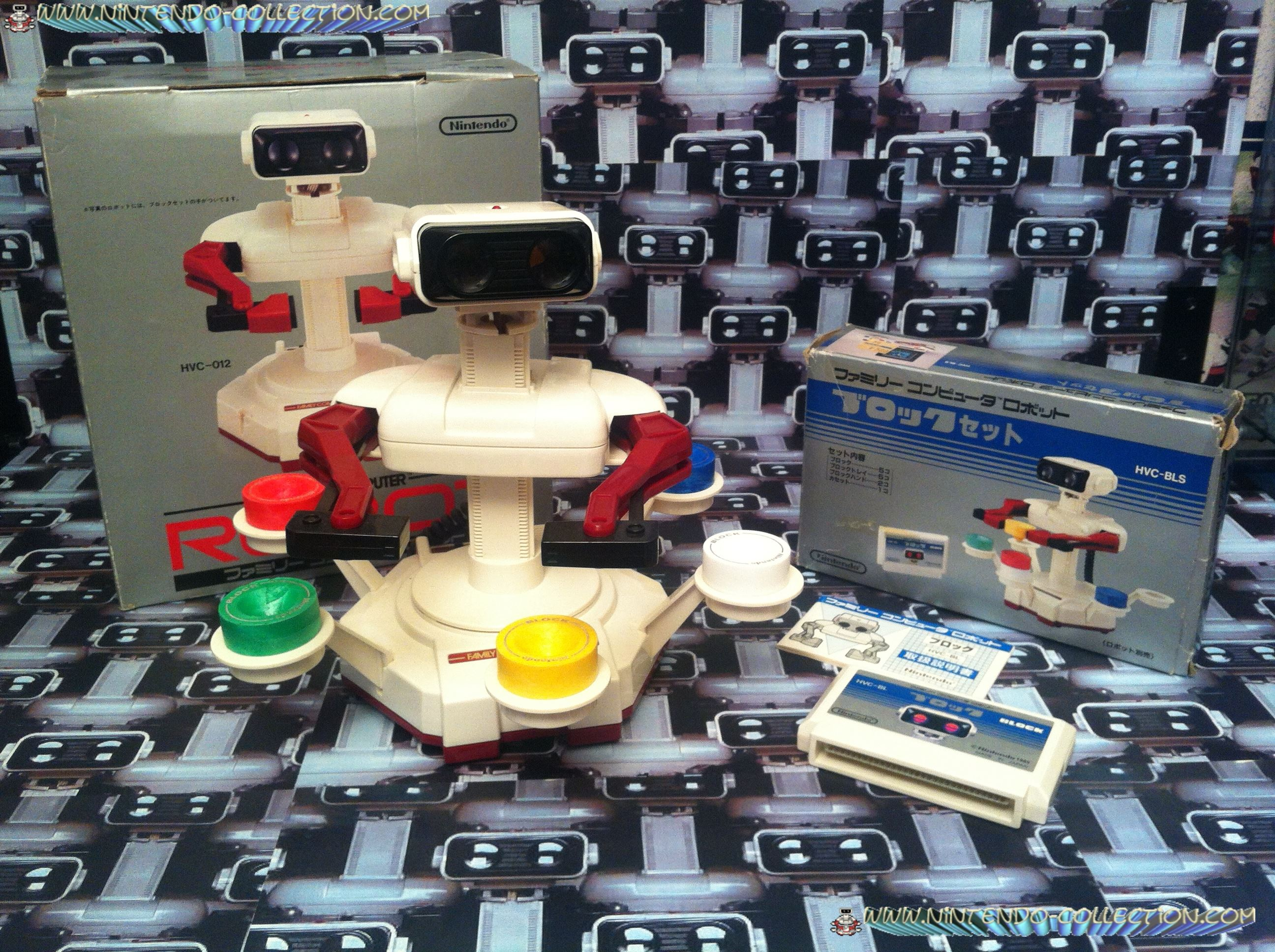 www.nintendo-collection.com -R.O.B. Famicom + Stack Up