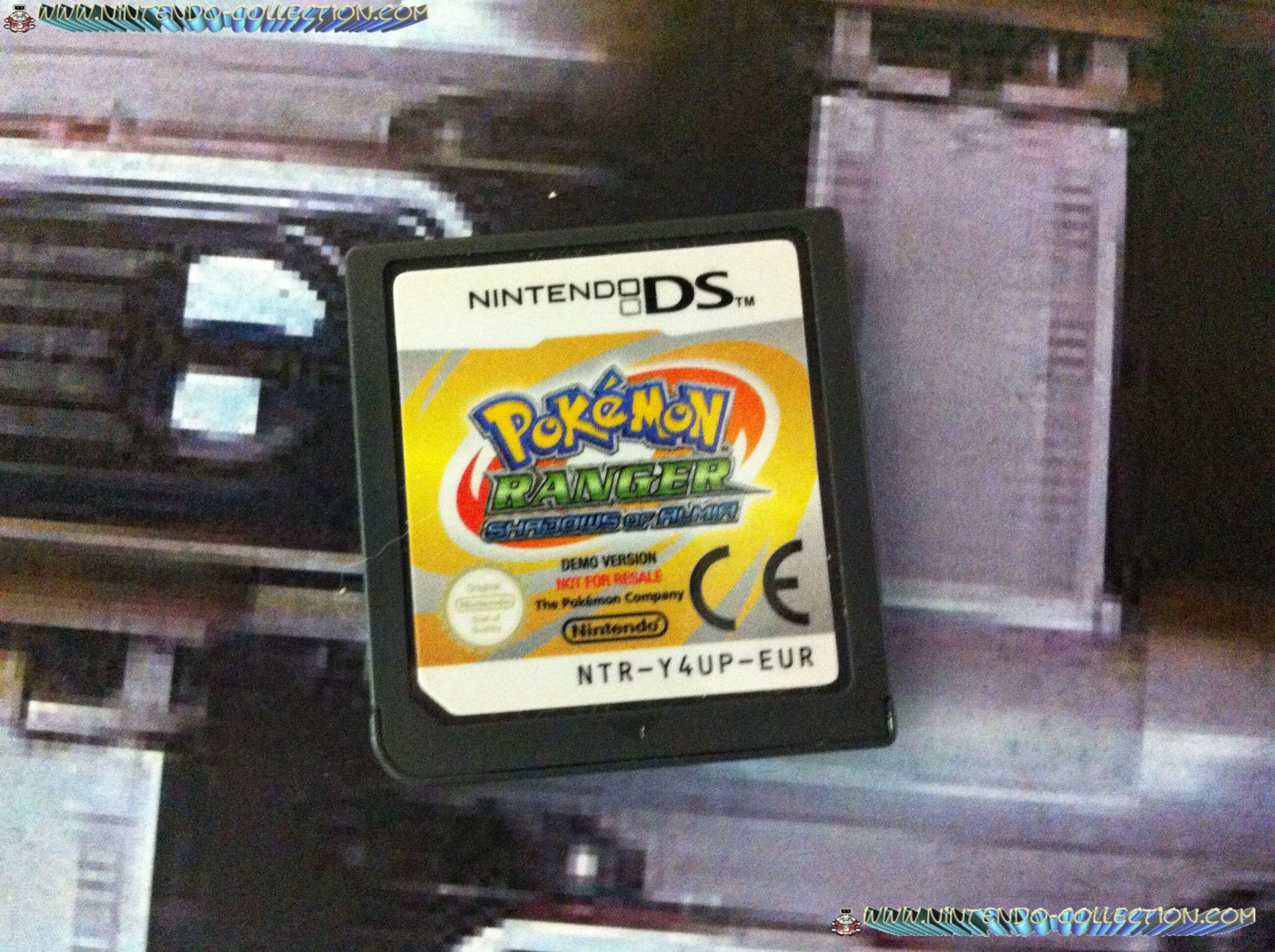 www.nintendo-collection.com - Demo DS 3DS - Not For Resale - Pokemon Ranger Shadow of Alma