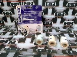 www.nintendo-collection.com - GameBoy Printer Paper Papier Imprimante SMall Box European Version Eur