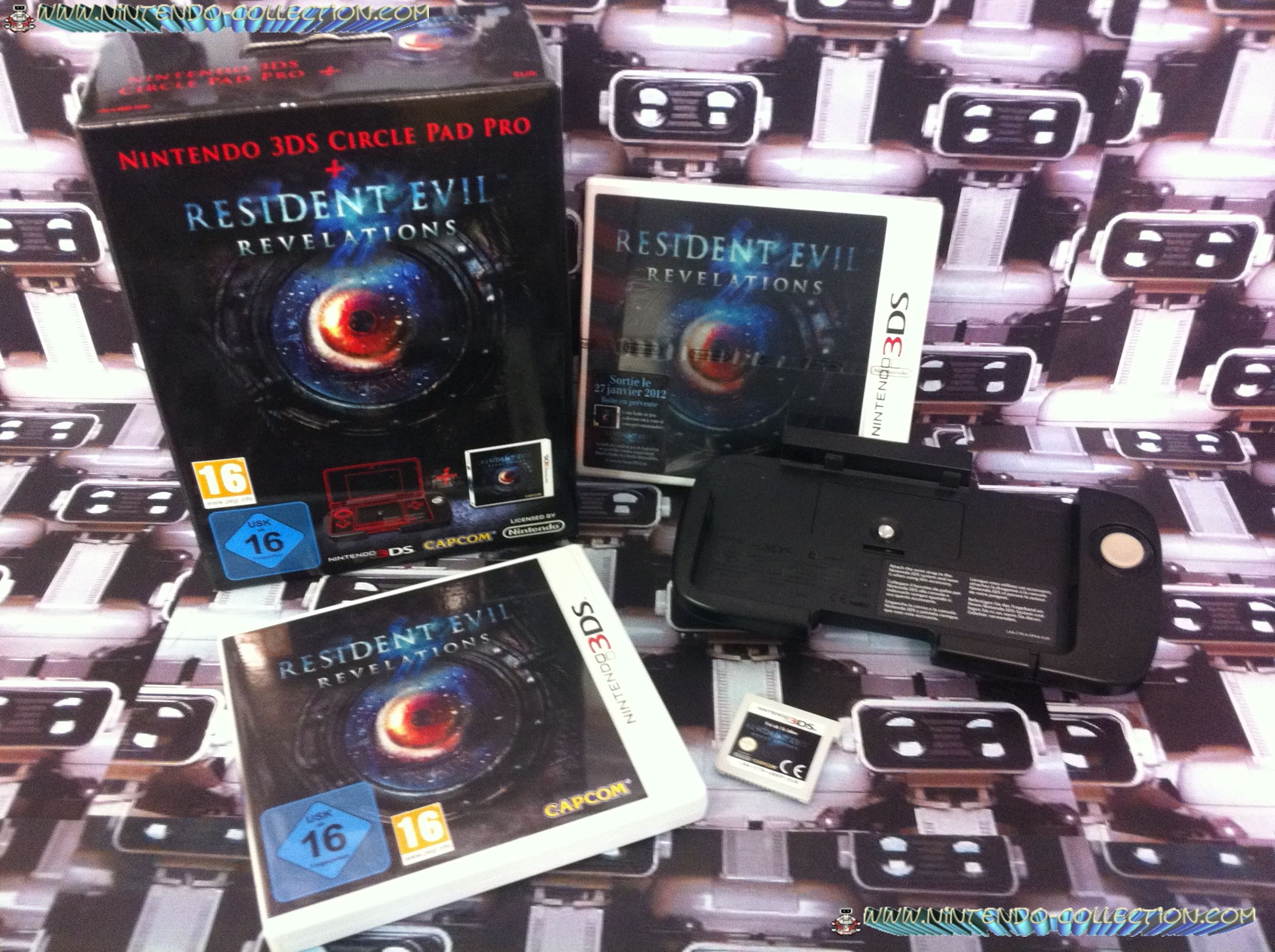 www.nintendo-collection.com - Pack Resident Evil Revelations + Nintendo 3DS Circle Pad Pro - Nintend