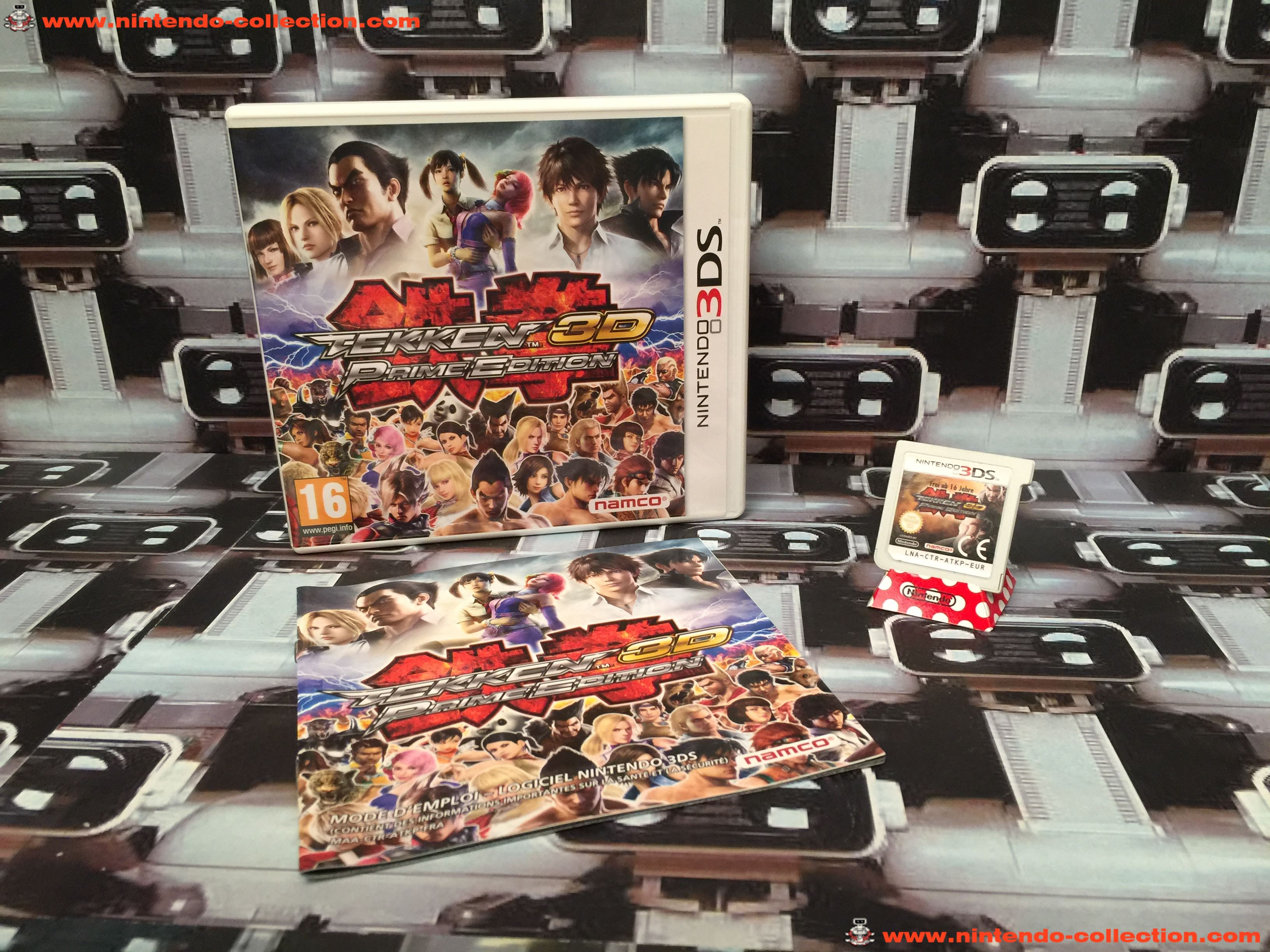 www.nintendo-collection.com - Nintendo 3DS Jeux Game Tekken 3D Prime Edition