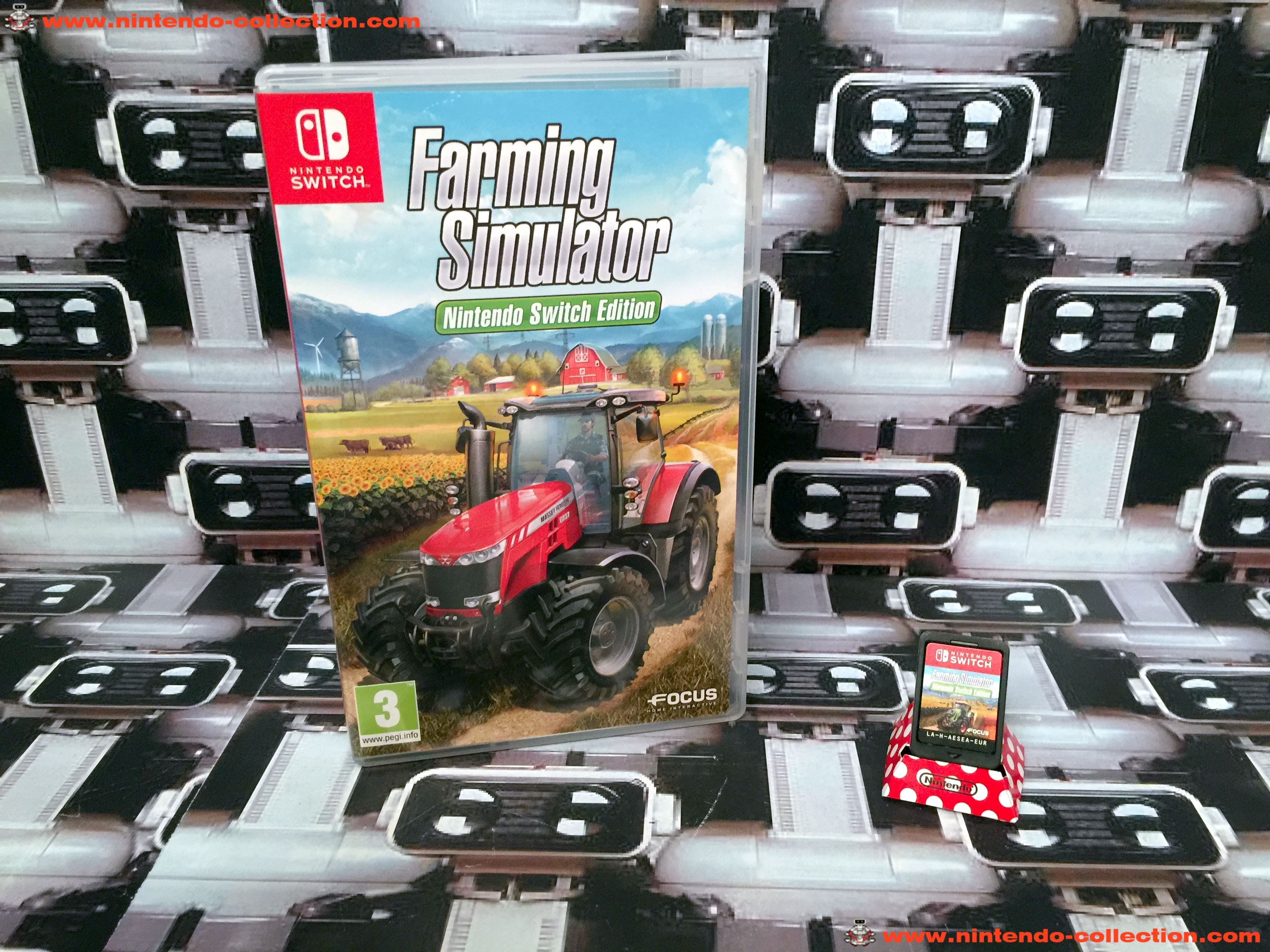 www.nintendo-collection.com - Nintendo Switch Jeux Farming Simulator Nintendo Switch Edition