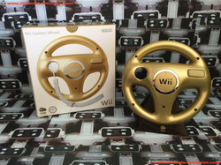 www.nintendo-collection.com - Wii Wheel Gold Or Club Nintendo Limited Edition European version - 02