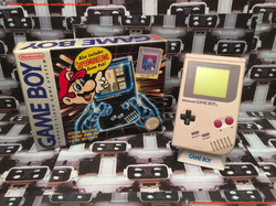 www.nintendo-collection.com - Gameboy GB Pack Tetris + Super Mario Land Grey Gris classic - 01