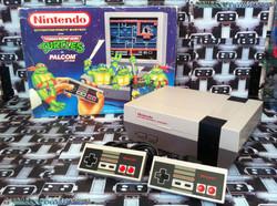 www.nintendo-collection.com - Nintendo NES Tortues Ninjas Pack Euro