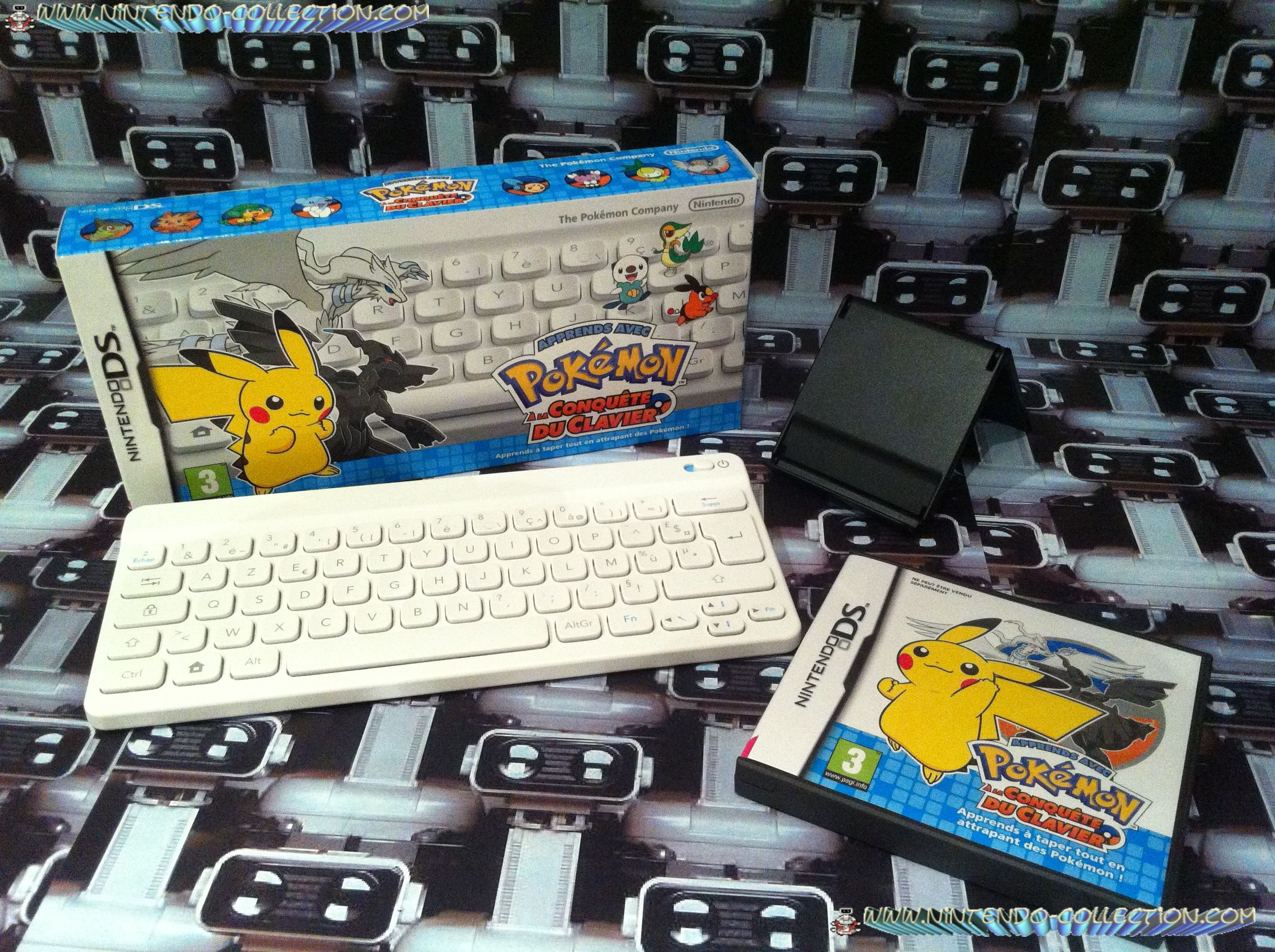 www.nintendo-collection DS DSI Jeux Game Pokemon a la conquete du clavier