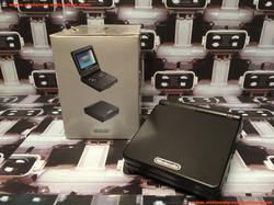 www.nintendo-collection.com - Gameboy Advance GBA SP Black Noir Edition europeenne european - 02