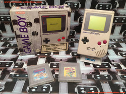 www.nintendo-collection.com - Gameboy GB Gris Grey Pack 2 Game Paks
