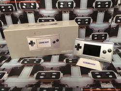 www.nintendo-collection.com - Gameboy Advance GBA Micro Grey Grise european version europeenne versi