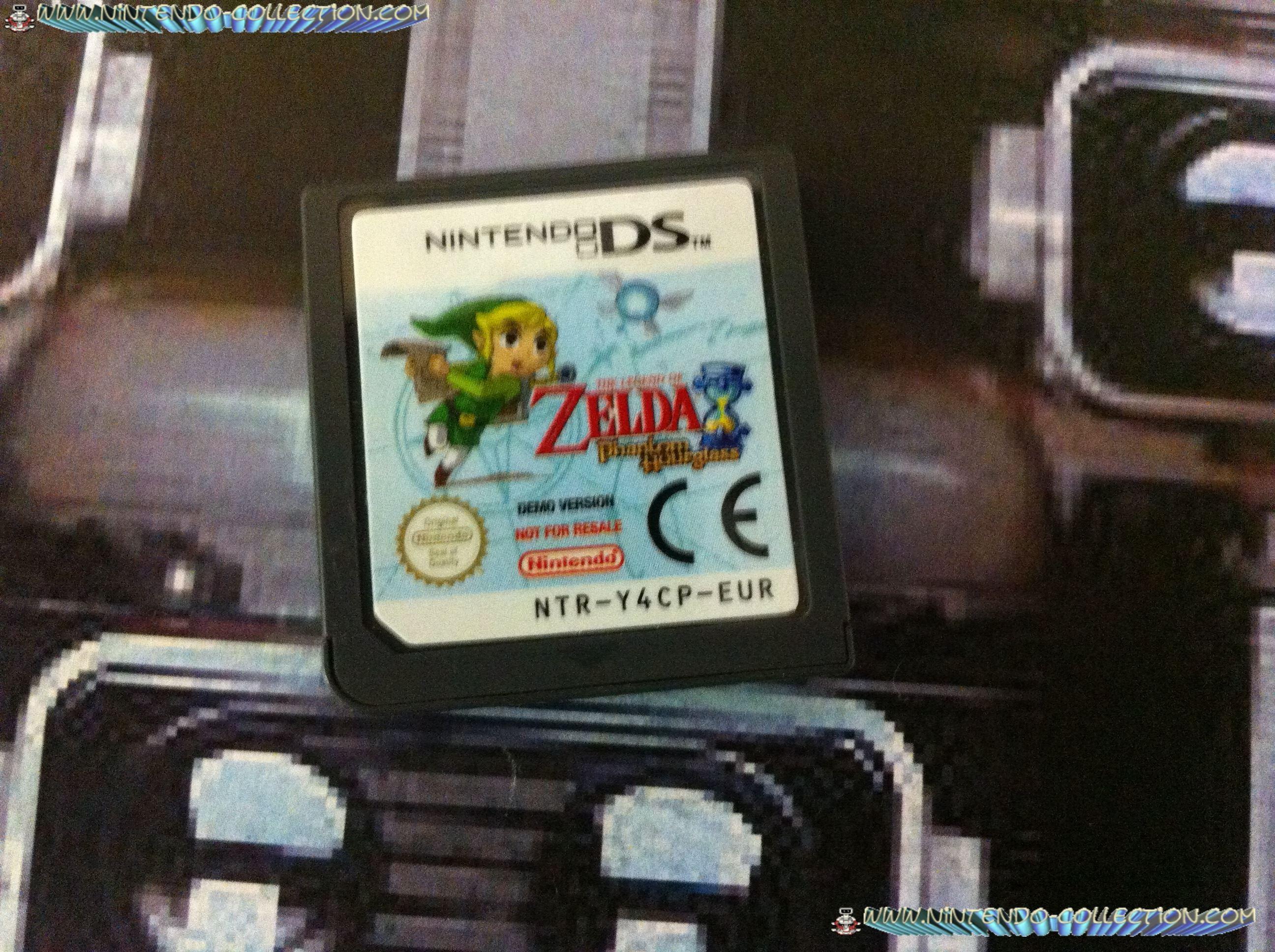 www.nintendo-collection.com - Demo DS 3 DS - Not For Resale - Zelda Phantom Hourglass