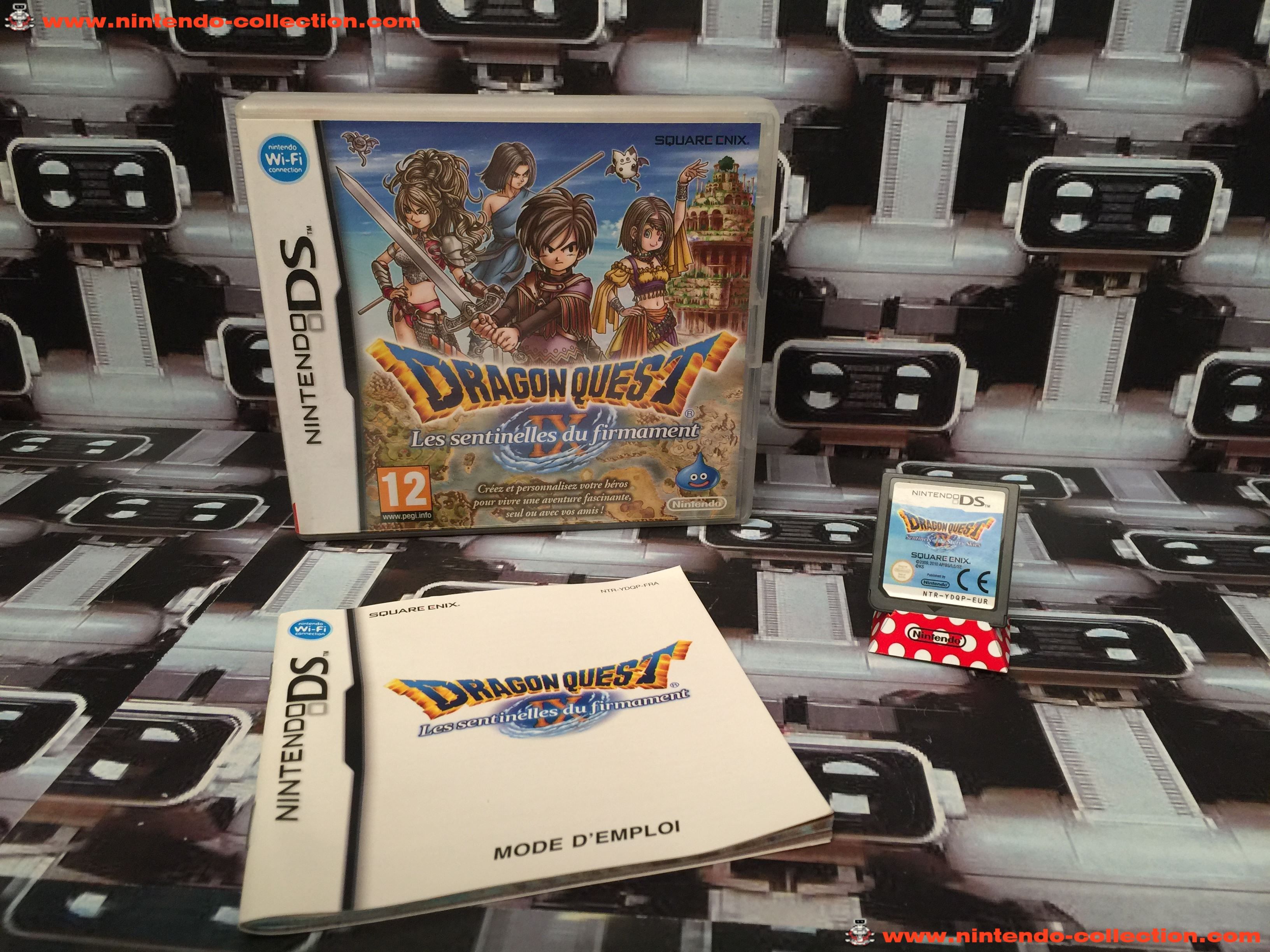 www.nintendo-collection.com - Nintendo DS Jeux Game Dragon Quest IX Les Sentinelles du firmamen Euro