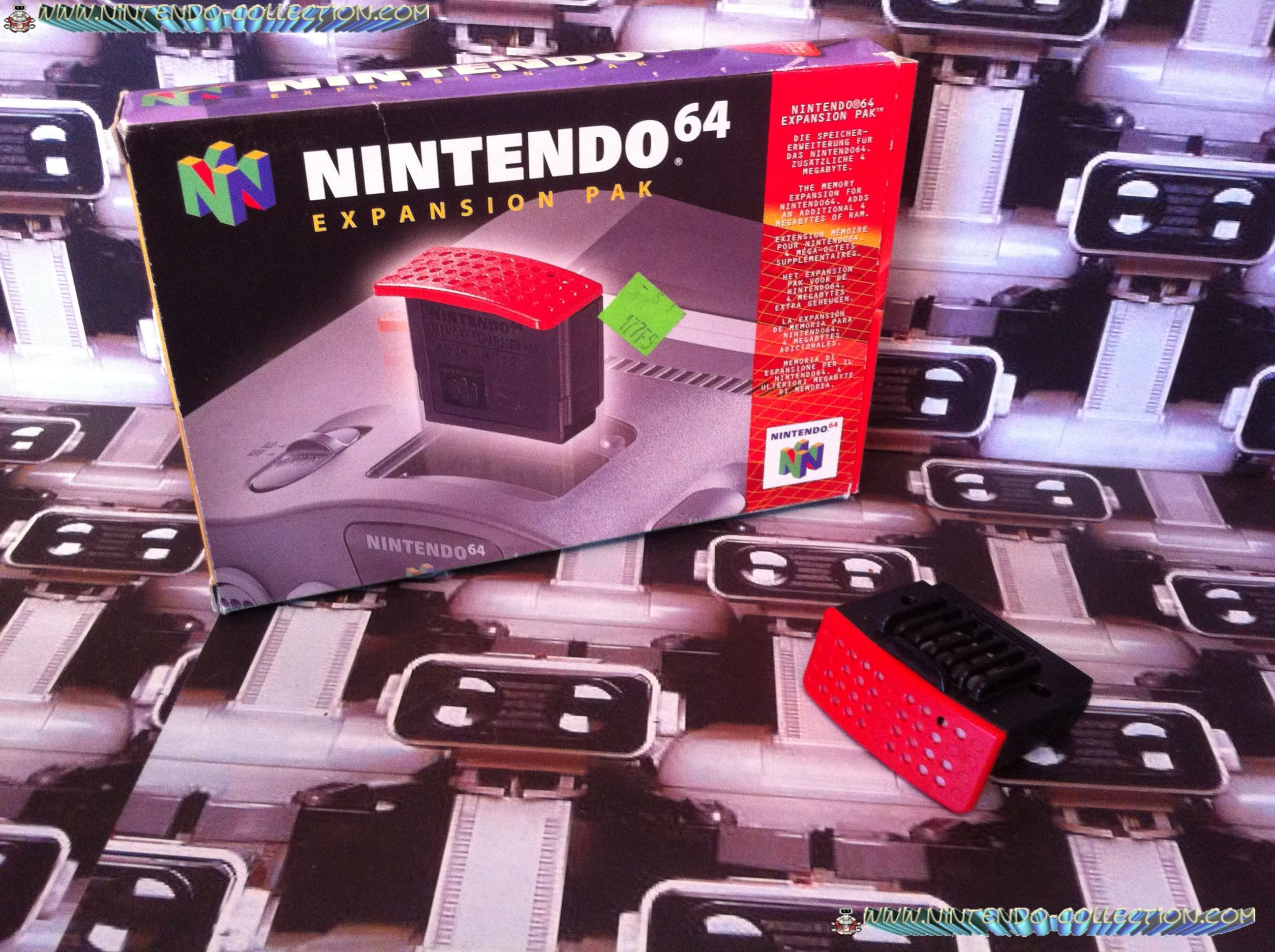 www.nintendo-collection.com - Nintendo 64 N64 Accessory - Accessoire - Expansion Pak