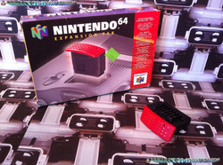 www.nintendo-collection.com - Nintendo 64 N64 Accessory - Accessoire - Expansion Pak