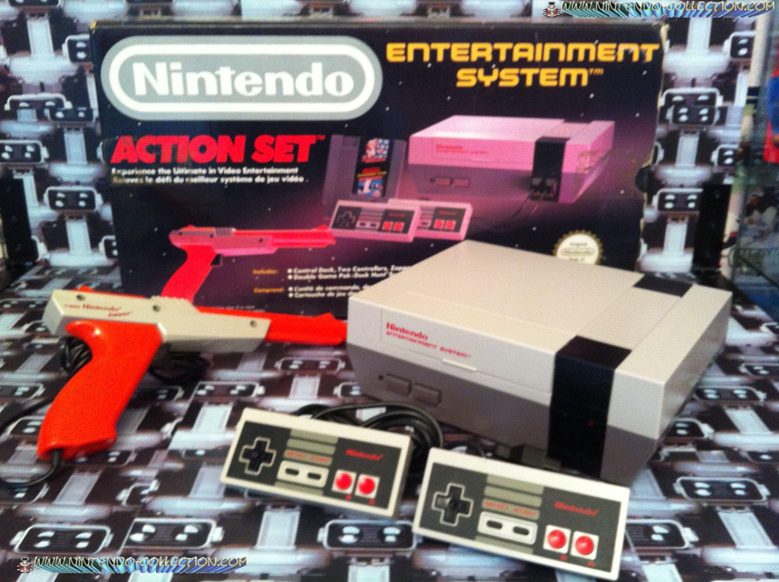 www.nintendo-collection.com - Nintendo NES Action Set Euro