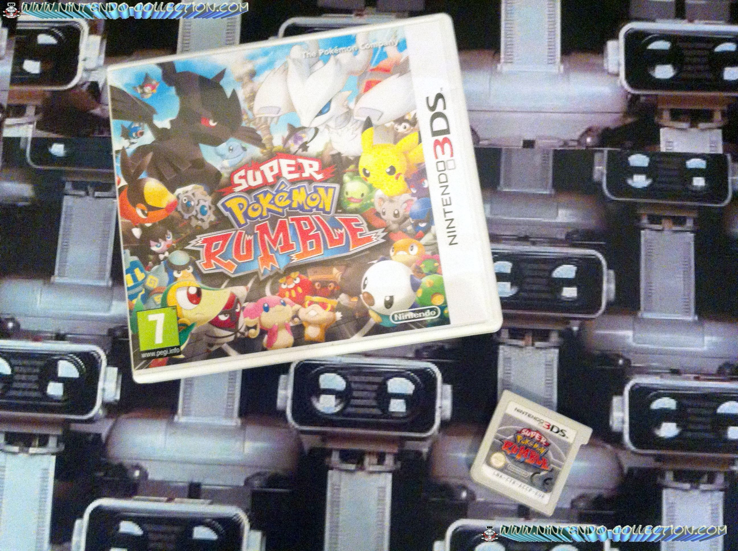 www.nintendo-collection.com - Super Pokemon Rumble - Nintendo 3DS