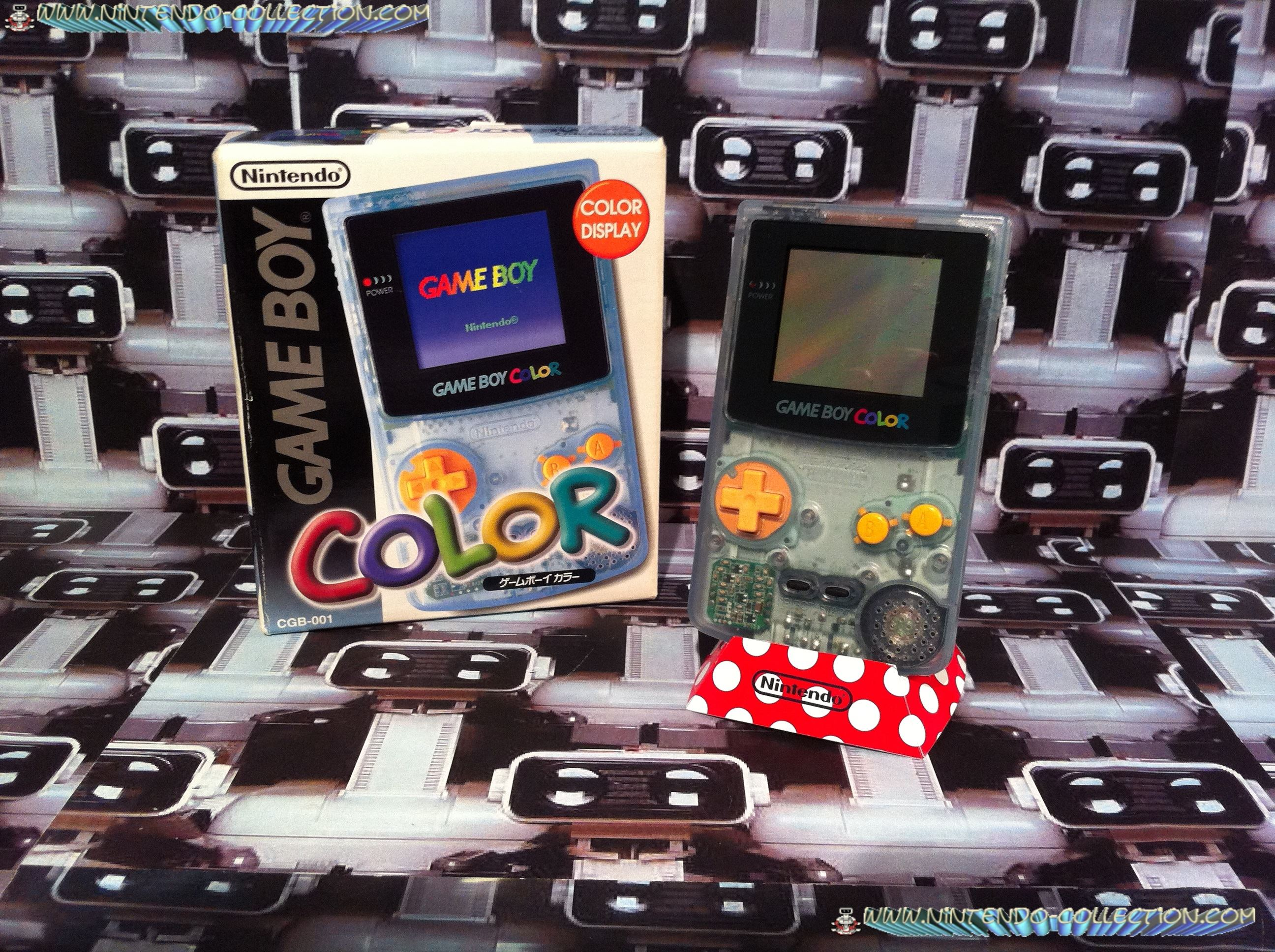 www.nintendo-collection.com - Gameboy Color Tsutaya edition Japan